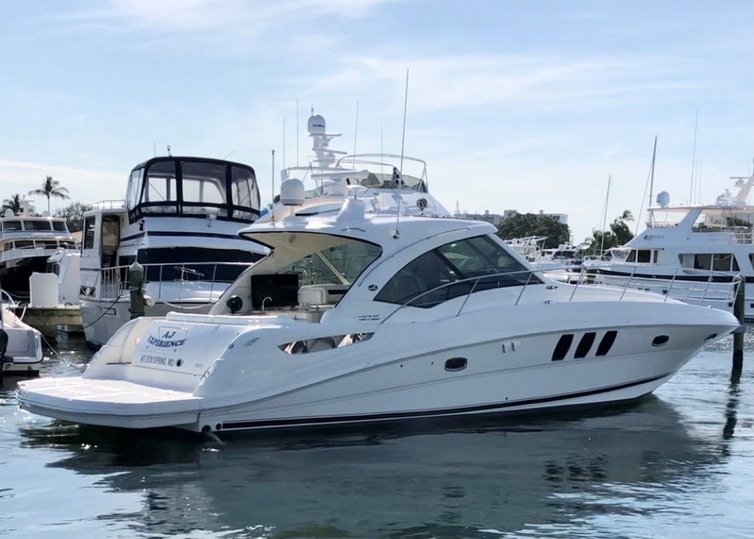 Sea Ray-48 Sundancer 2009-No Name Longboat Key-Florida-United States-2009 Sea Ray 470 Sundancer-1594840 | Thumbnail