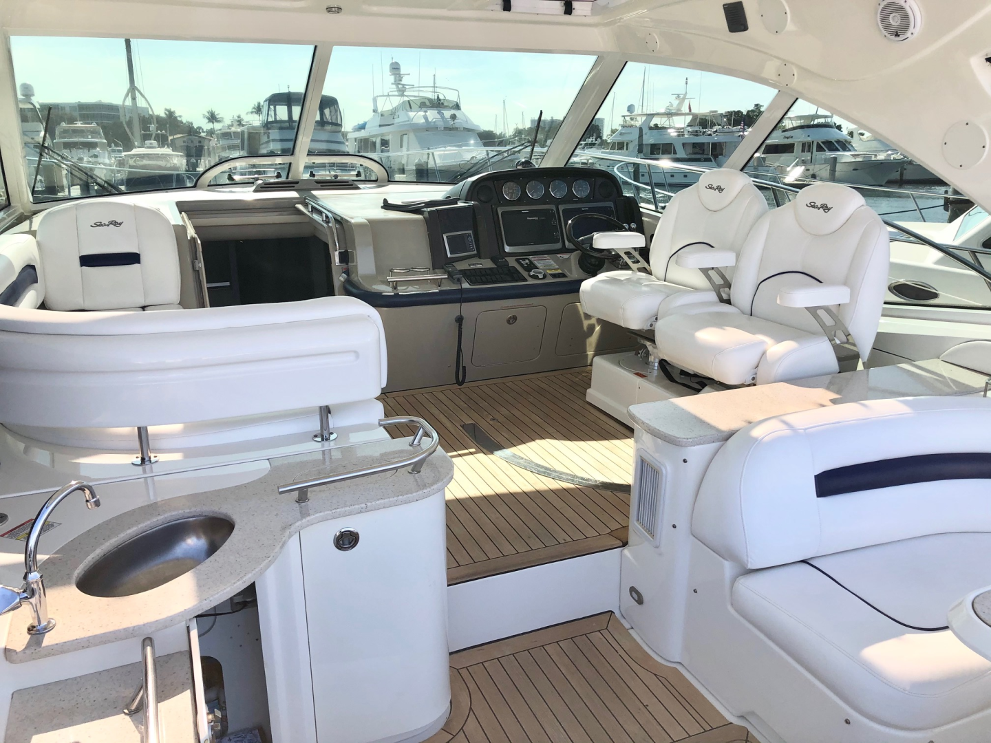 Sea Ray-48 Sundancer 2009-No Name Longboat Key-Florida-United States-2009 Sea Ray 470 Sundancer-1594858 | Thumbnail