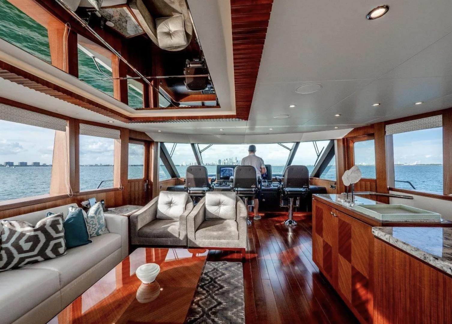 Ocean Alexander-100 Skylounge 2016-Sea N Sea Naples-Florida-United States-Forward Salon-1596369 | Thumbnail