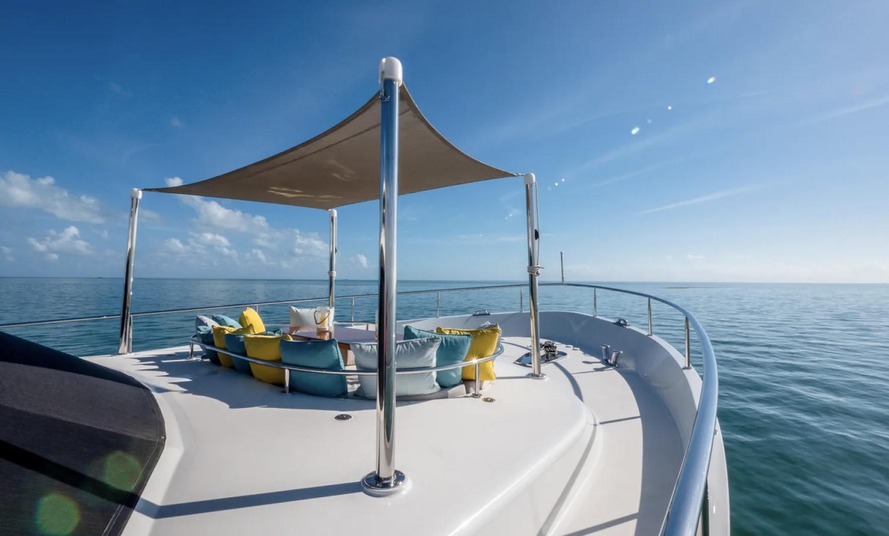 Ocean Alexander-100 Skylounge 2016-Sea N Sea Naples-Florida-United States-Bow Seating-1596367 | Thumbnail