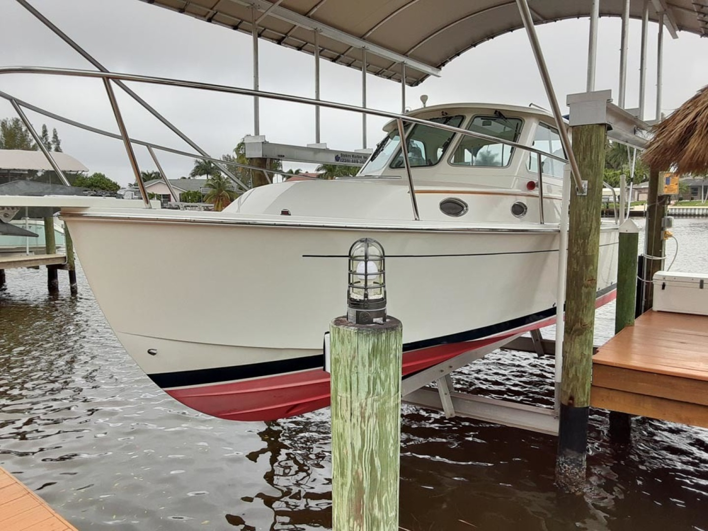 Back Cove-Express 2007-Patronus Cape Coral-Florida-United States Port Bow View-1596406 | Thumbnail