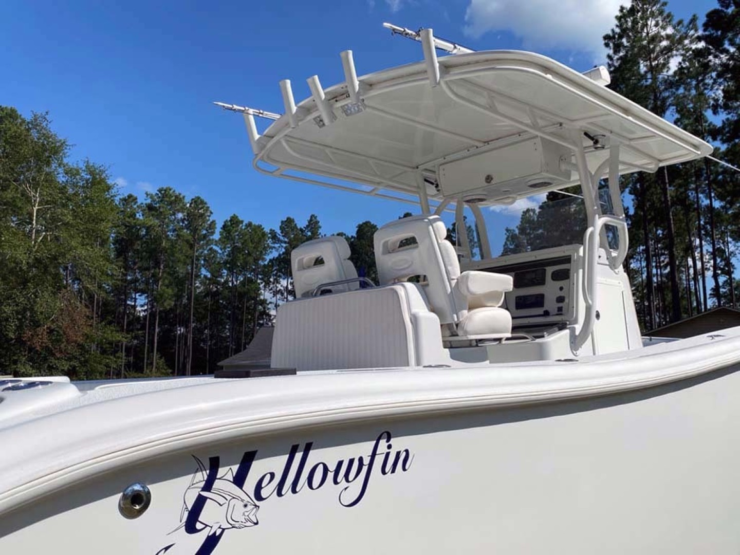 Yellowfin-Center Console 2005-Depth Collector Lenox-Georgia-United States-Starboard Side View-1598807 | Thumbnail
