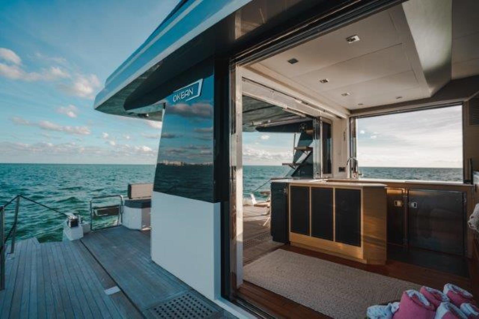 Okean-Flybridge 2019-VEDGE Miami-Florida-United States-Deck-1600182 | Thumbnail