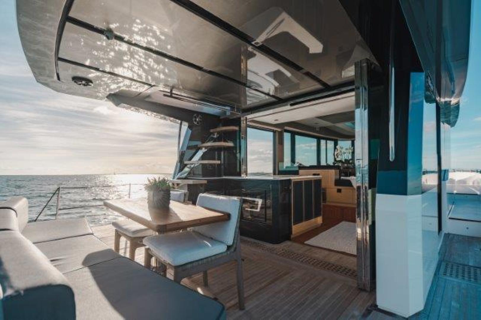 Okean-Flybridge 2019-VEDGE Miami-Florida-United States-Aft Deck-1600180 | Thumbnail