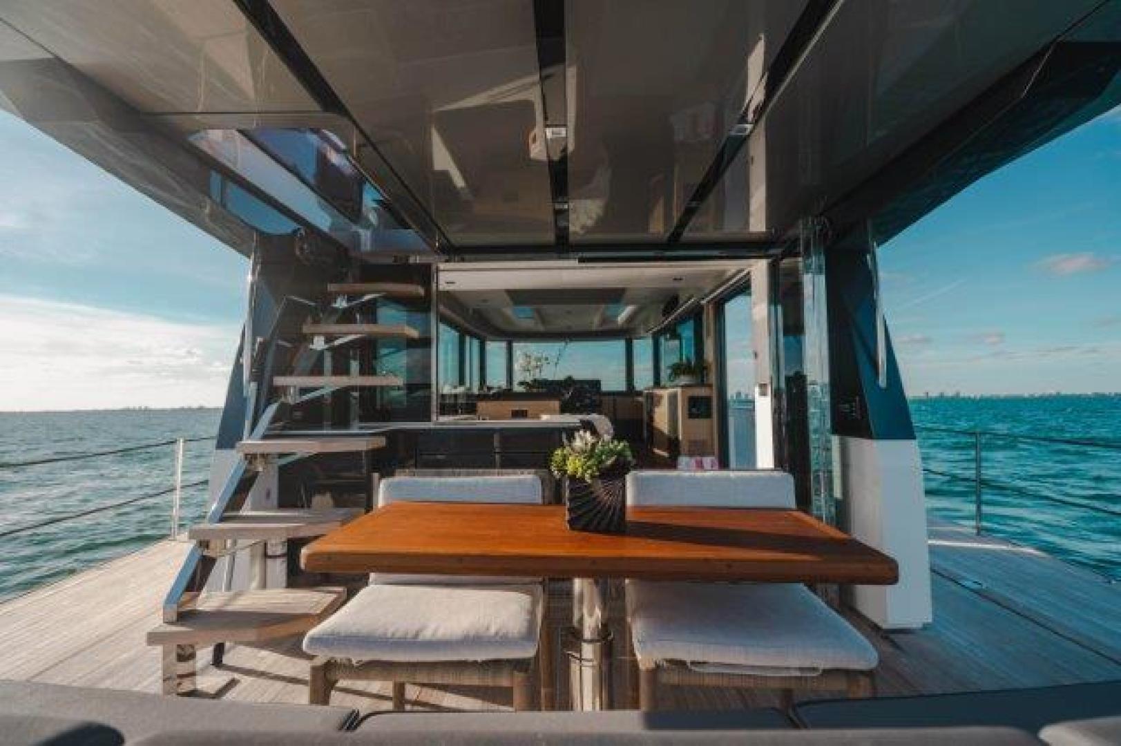 Okean-Flybridge 2019-VEDGE Miami-Florida-United States-Aft Deck-1600179 | Thumbnail