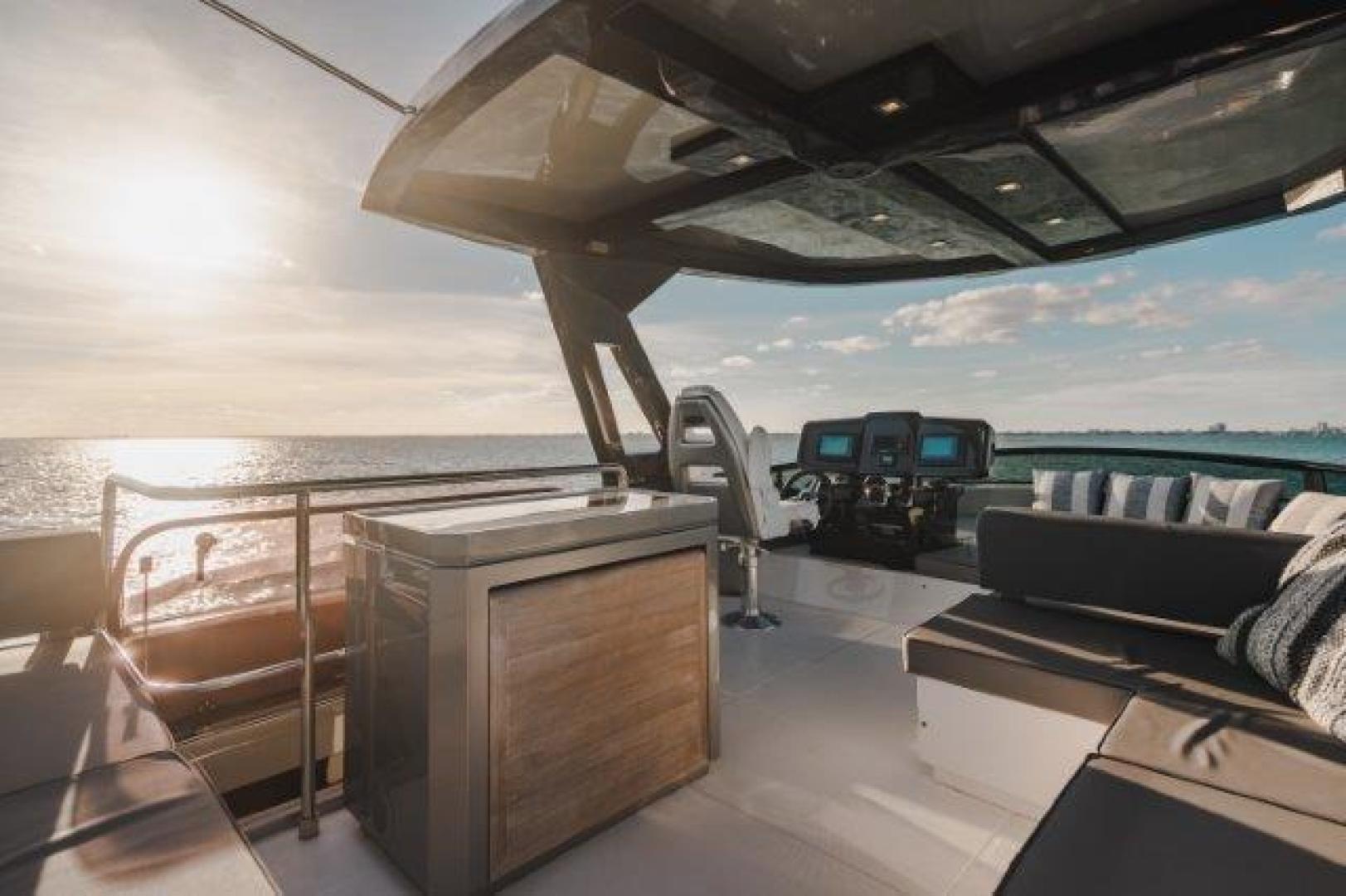 Okean-Flybridge 2019-VEDGE Miami-Florida-United States-Bridge Deck-1600196 | Thumbnail