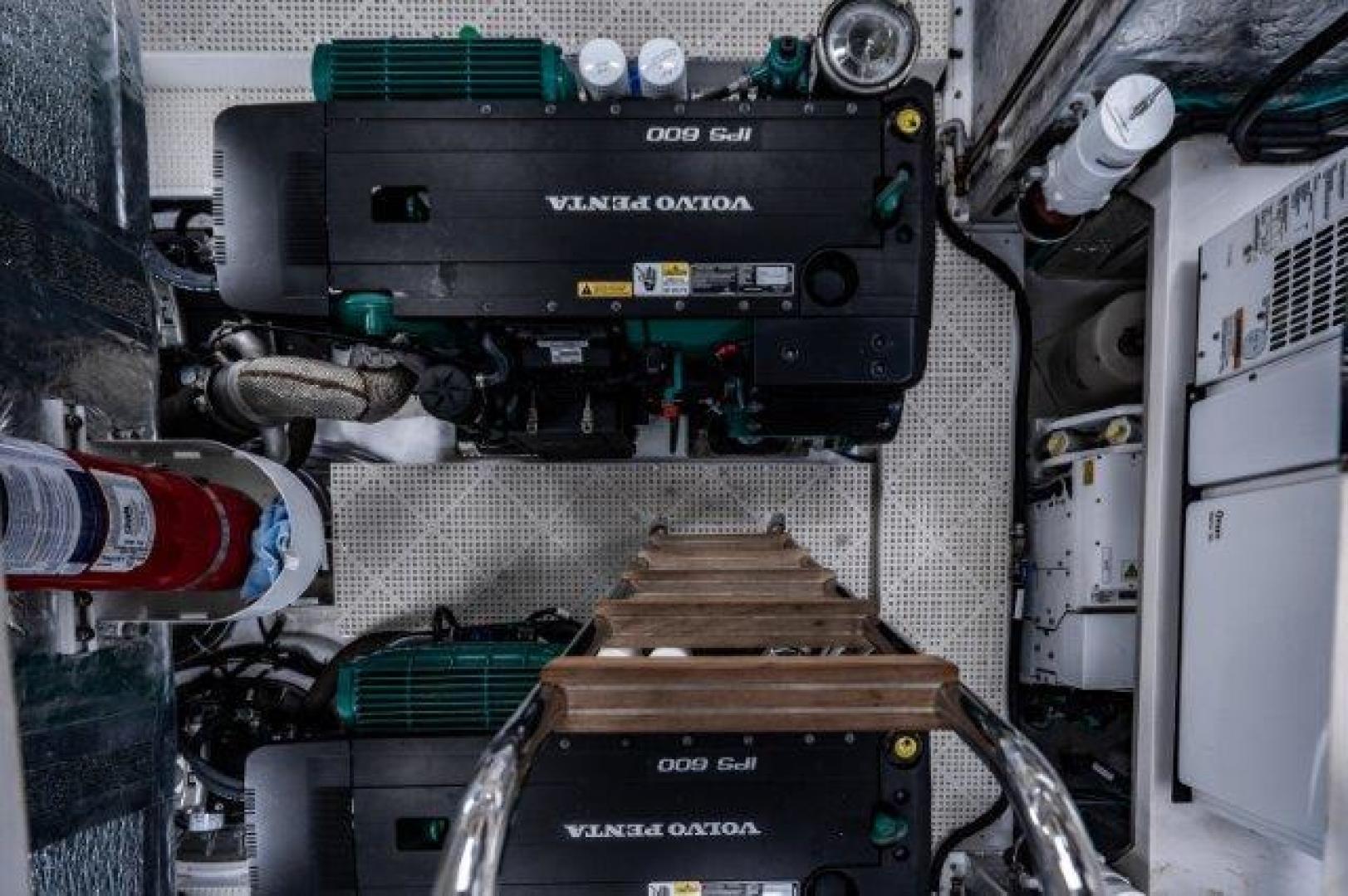 Okean-Flybridge 2019-VEDGE Miami-Florida-United States-Engine Room-1600211 | Thumbnail