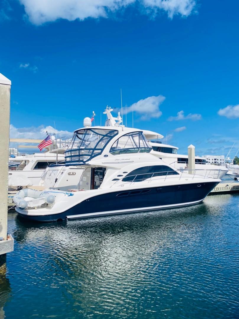 Sea Ray 52 - Abinig - Starboard Profile
