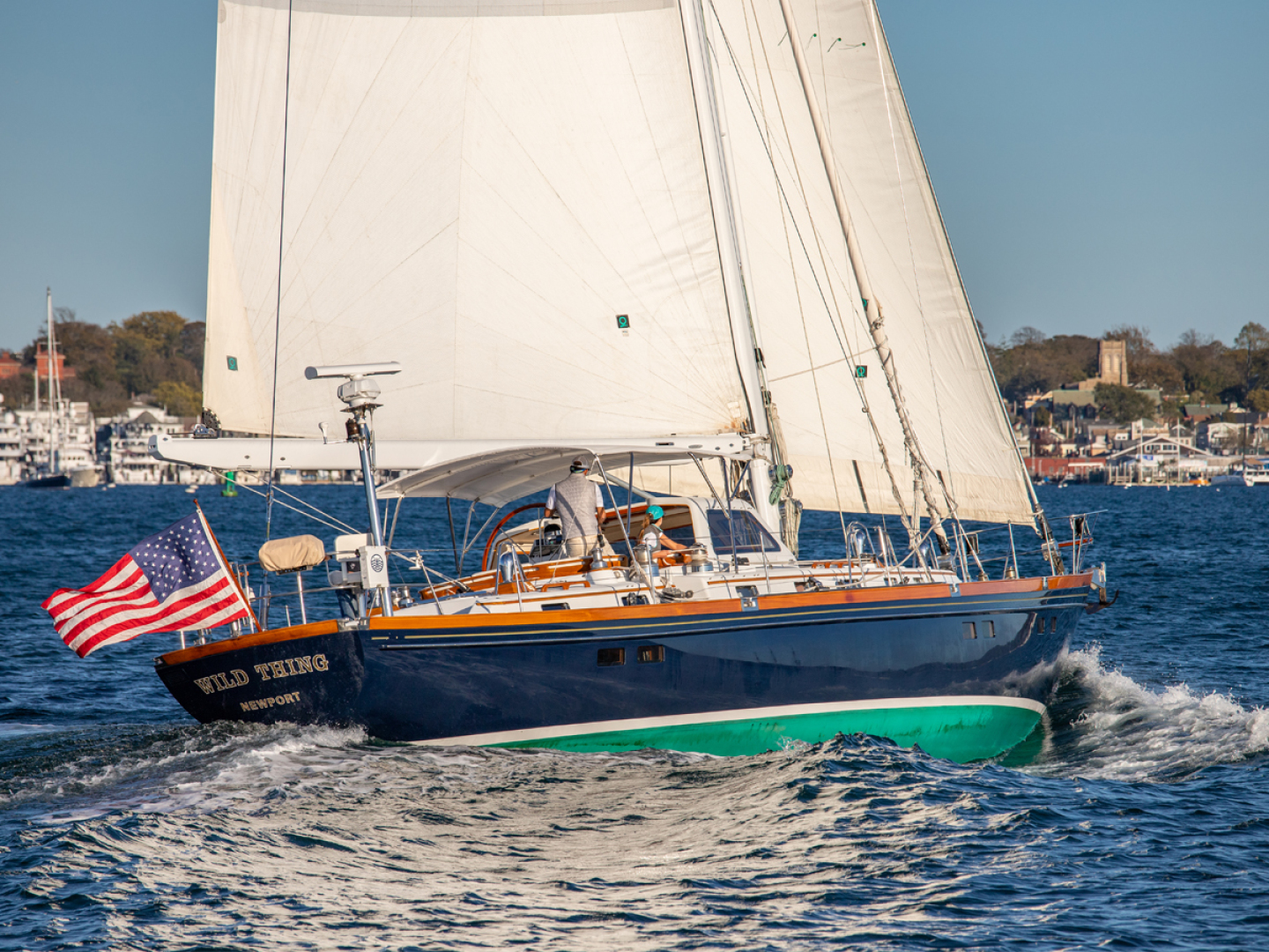 Little Harbor-70 1995-WILD THING Portsmouth-Rhode Island-United States-Under Sail-1600962 | Thumbnail