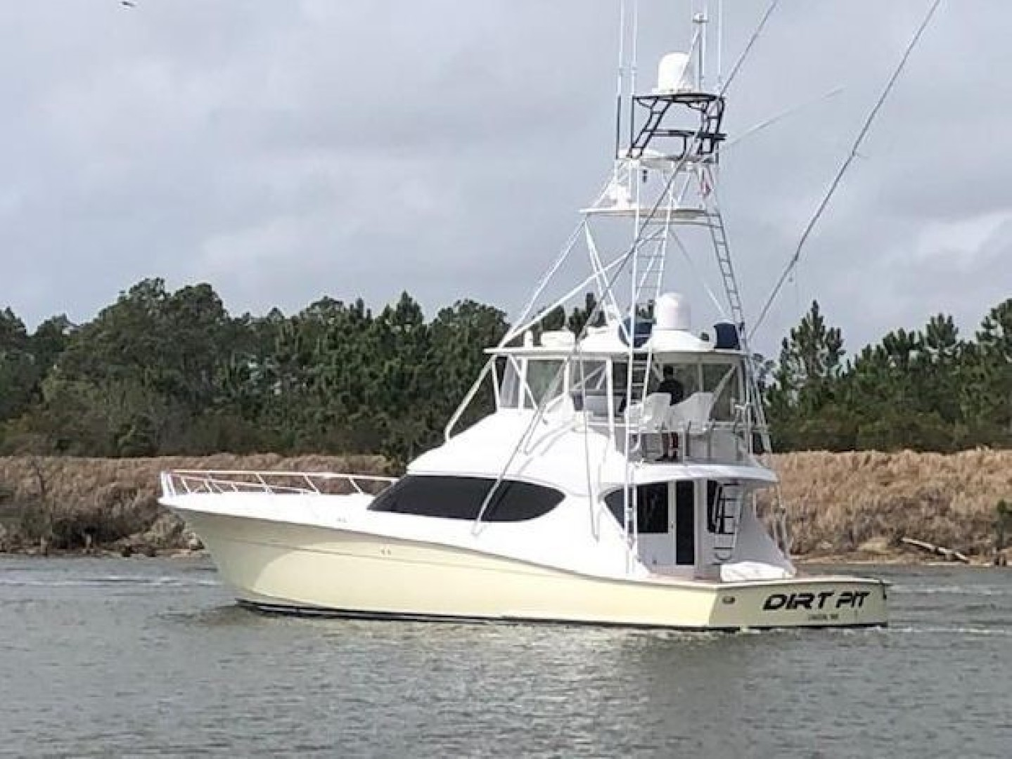Hatteras-60 Convertible 2009-Dirt Pit United States-1604876 | Thumbnail