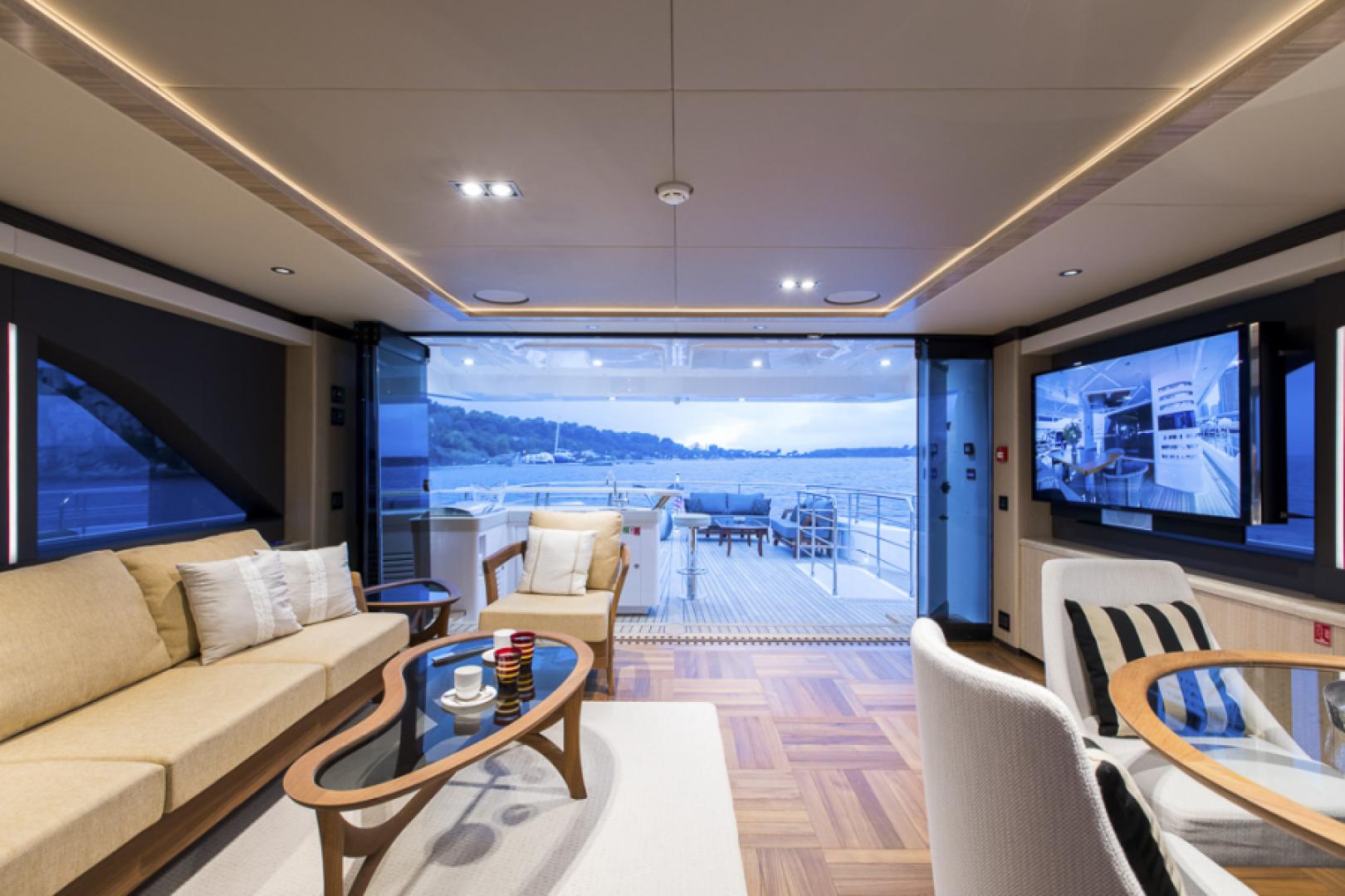 Majesty Yachts-Majesty 100 2022-MAJESTY 100 United Arab Emirates-Sky Lounge-1604957