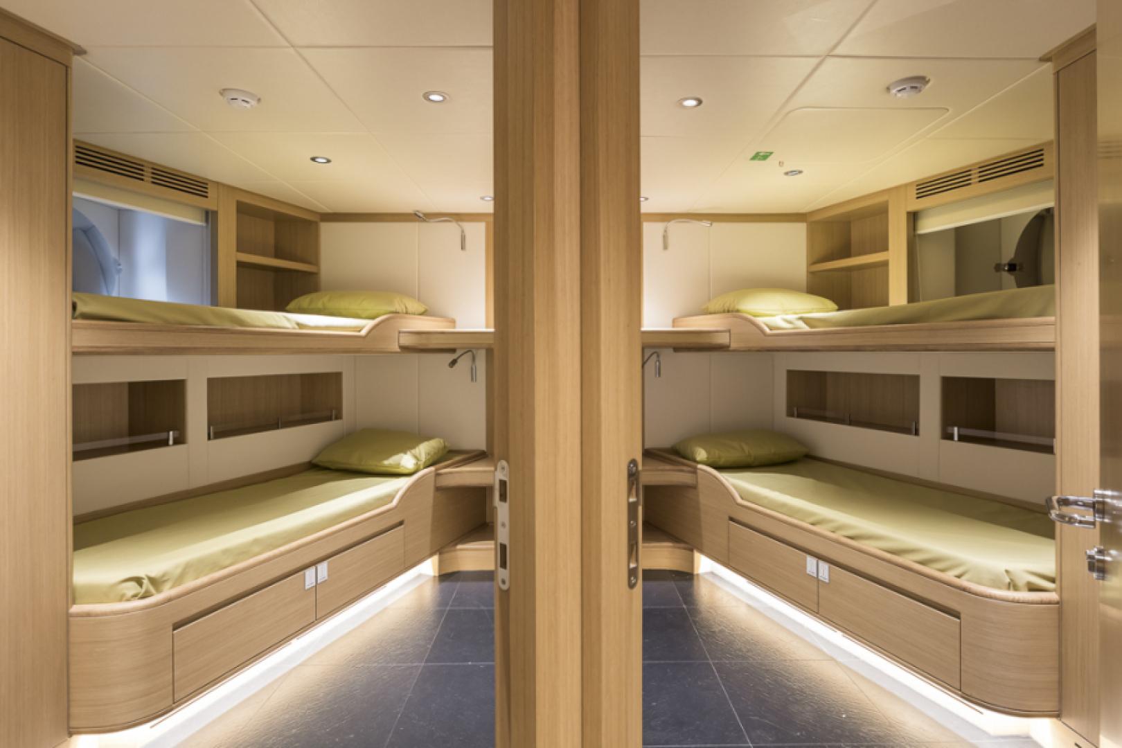 Majesty Yachts-Majesty 100 2022-MAJESTY 100 United Arab Emirates-Crew Cabins-1604966