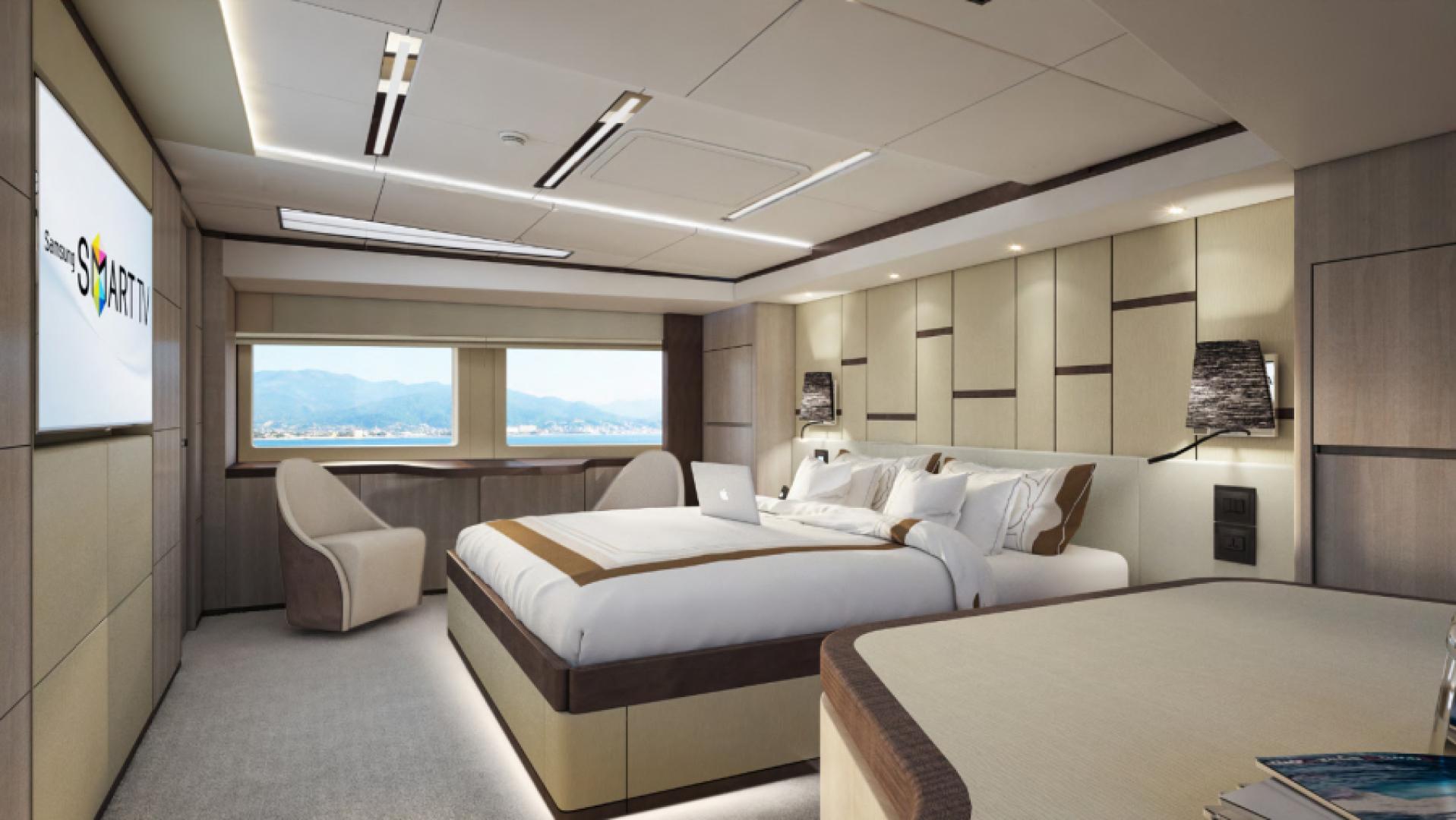 Majesty Yachts-Majesty 100 2022-MAJESTY 100 United Arab Emirates-Master Stateroom-1604960
