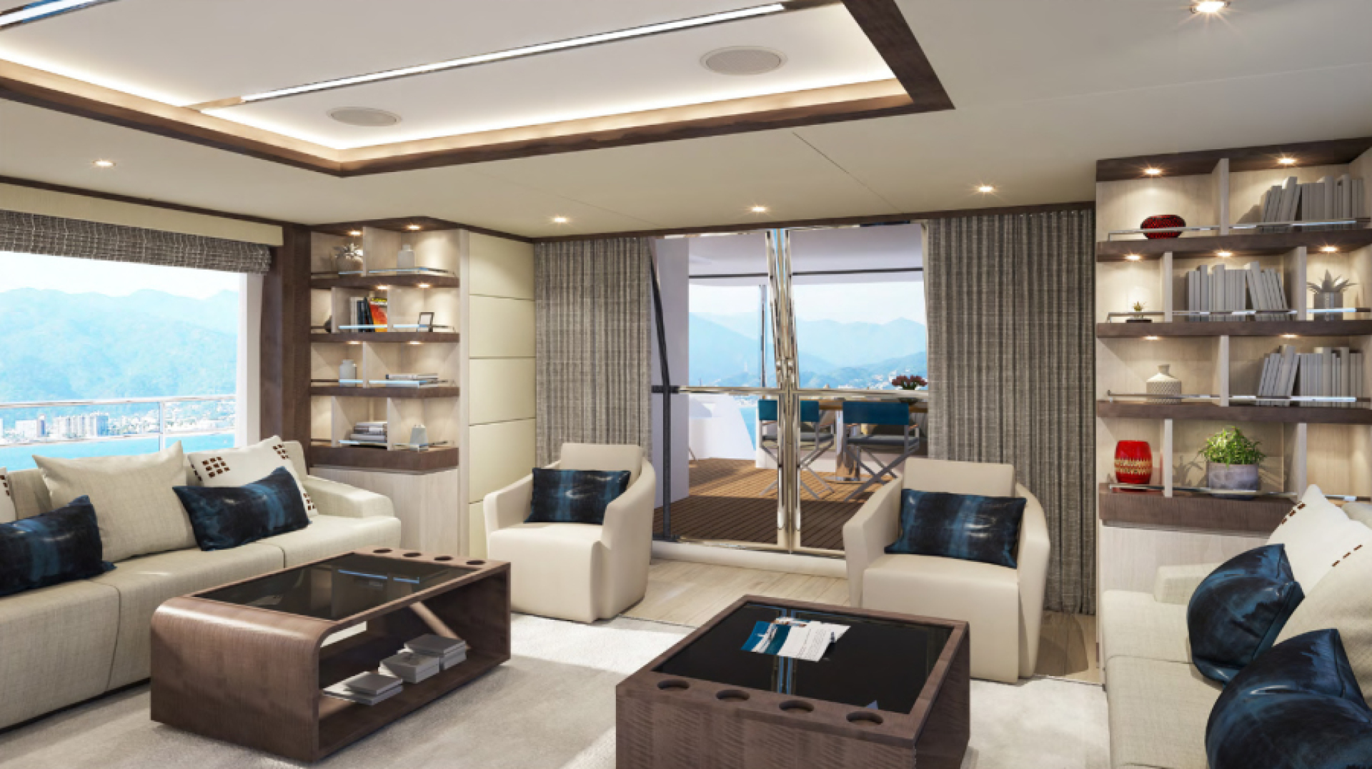 Majesty Yachts-Majesty 100 2022-MAJESTY 100 United Arab Emirates-Salon-1604950