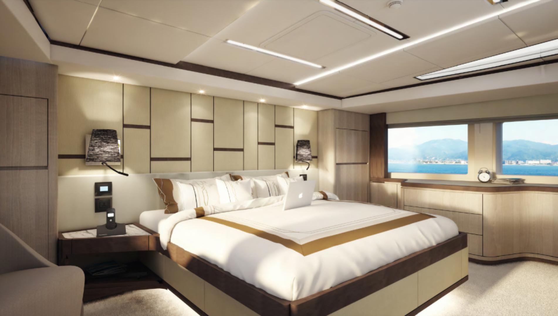 Majesty Yachts-Majesty 100 2022-MAJESTY 100 United Arab Emirates-Master Stateroom-1604961