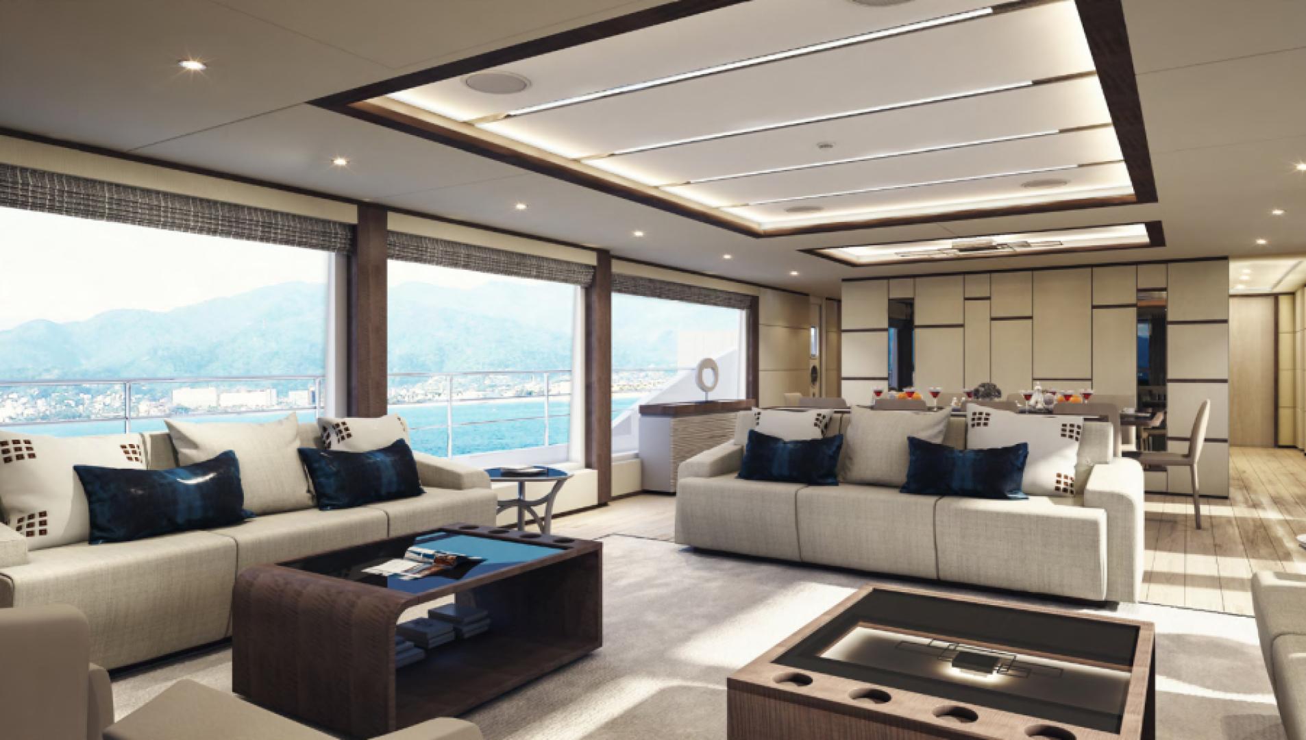 Majesty Yachts-Majesty 100 2022-MAJESTY 100 United Arab Emirates-Salon-1604951