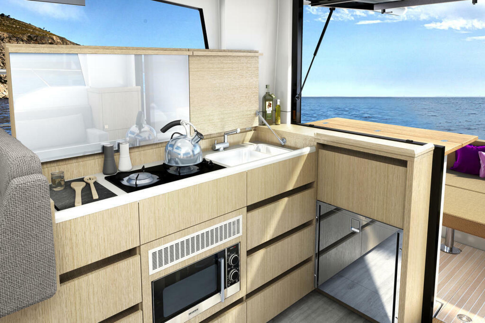 Picture Of a 2022 Sealine 33 C335v Motor Yachts | 1628192