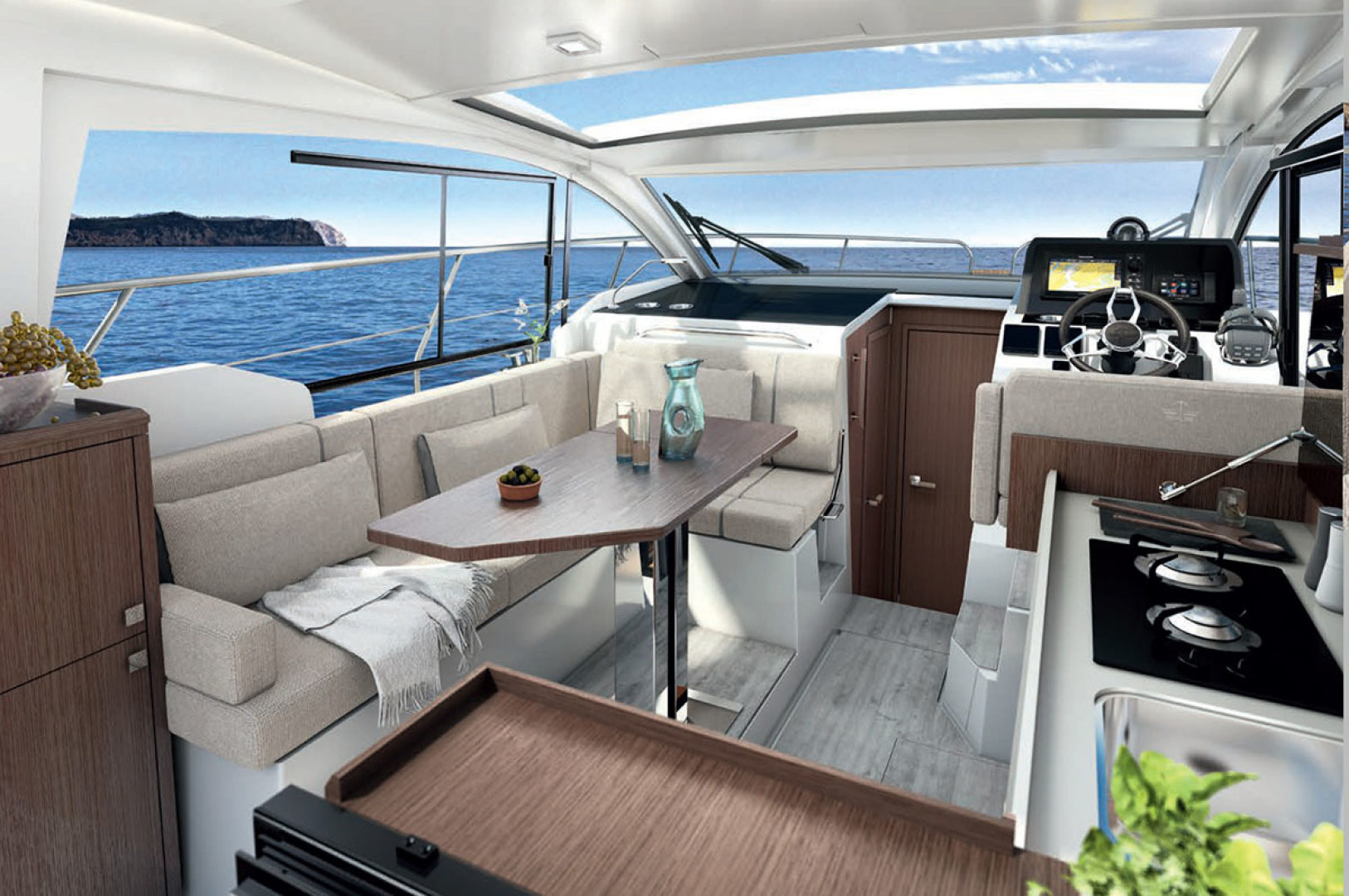 Picture Of a 2022 Sealine 33 C335v Motor Yachts | 1605049