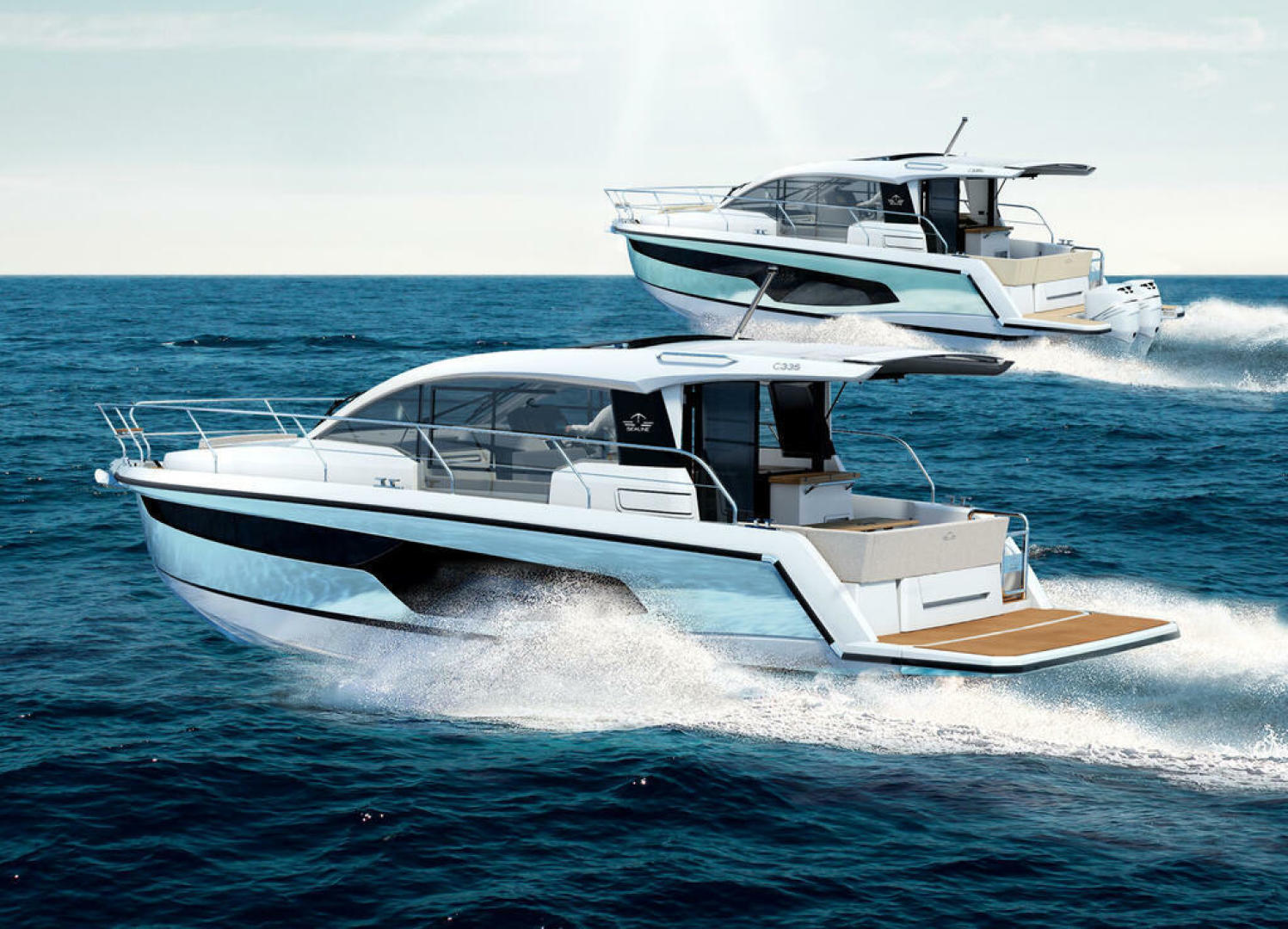 Picture Of a 2022 Sealine 33 C335v Motor Yachts | 1628197
