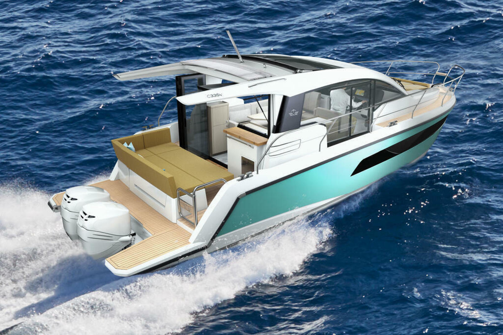 Picture Of a 2022 Sealine 33 C335v Motor Yachts | 1628190