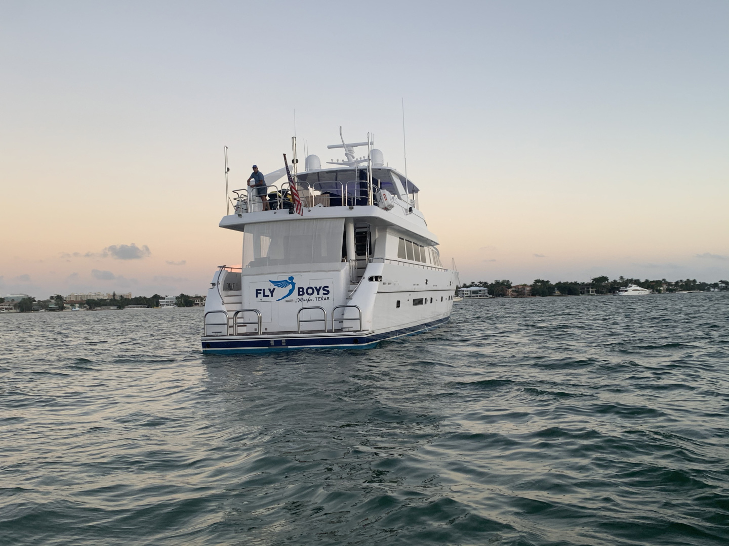 Hargrave-Raised Pilothouse 2002-FLY BOYS Fort Lauderdale-Florida-United States-Stern View-1618771 | Thumbnail