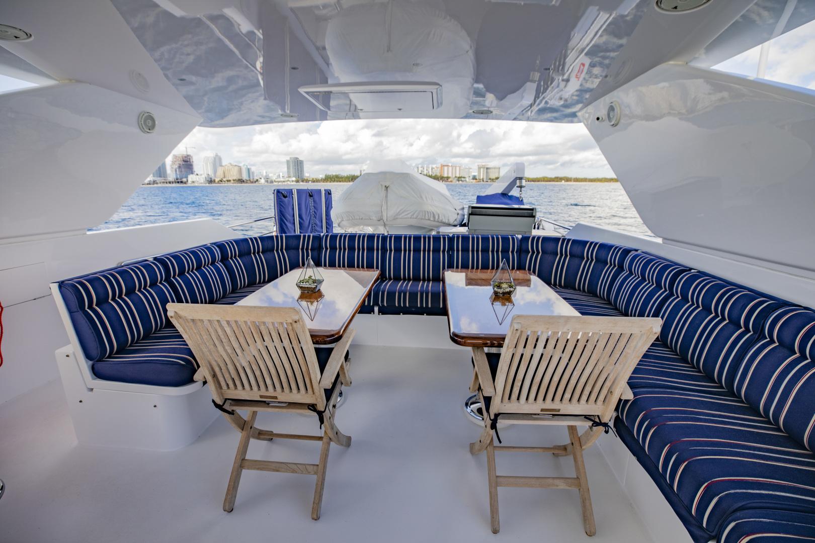 Hargrave-Raised Pilothouse 2002-FLY BOYS Fort Lauderdale-Florida-United States-Flybridge Deck-1627219 | Thumbnail