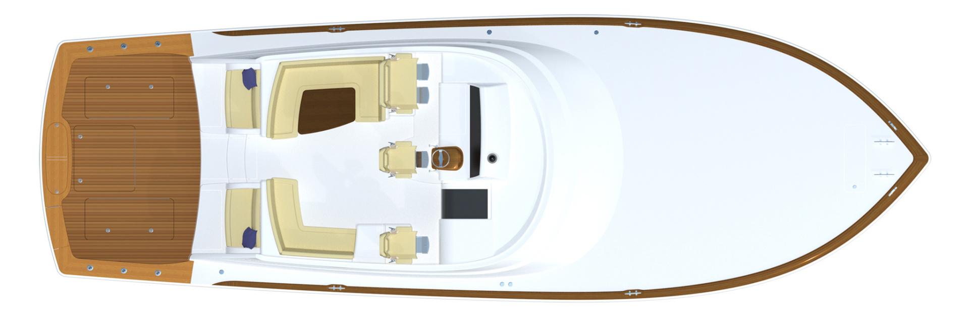 Viking 54 - Deck Layout