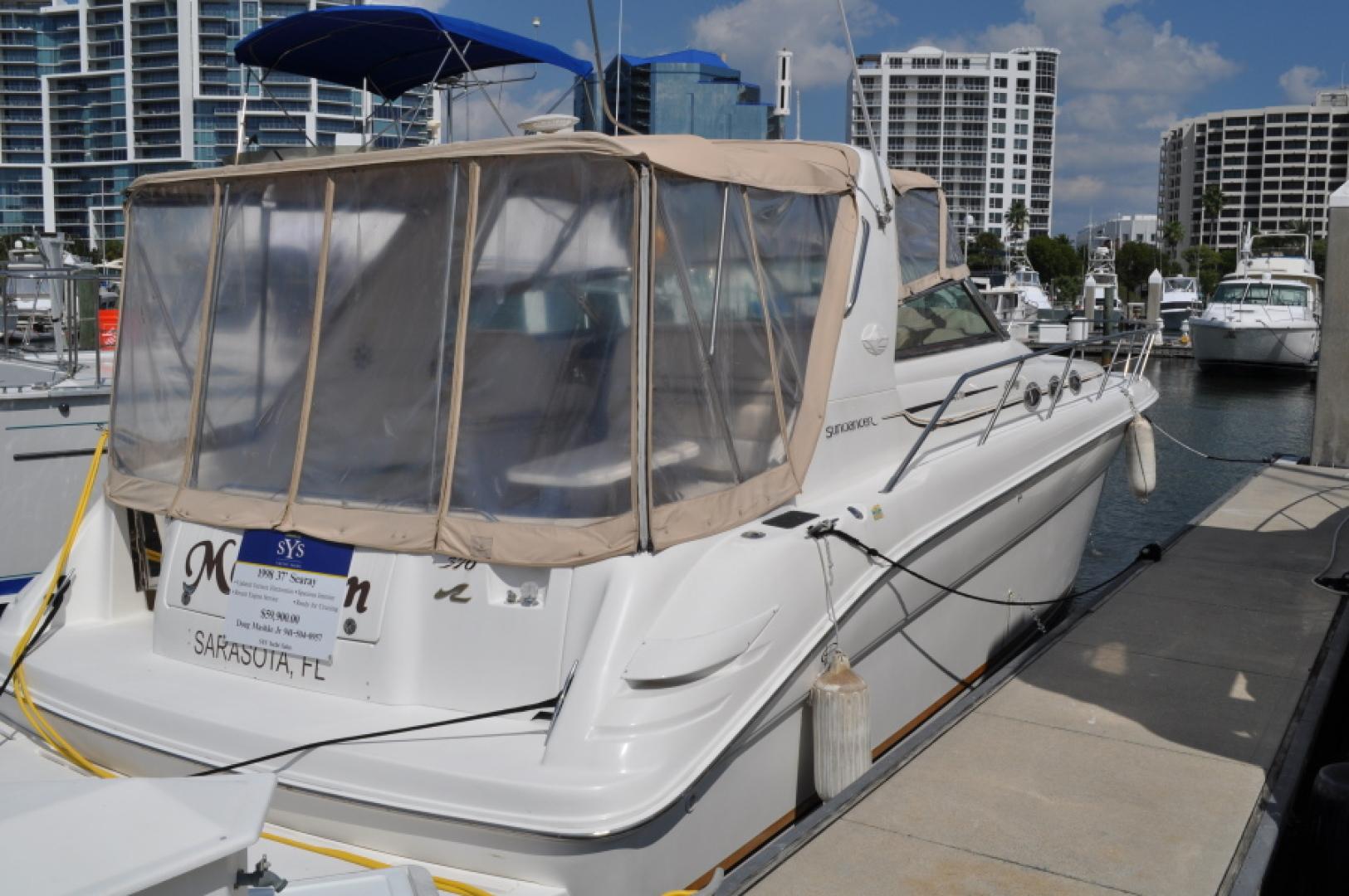 Sea Ray-370 Sundancer 1998 -Sarasota-Florida-United States-1614806 | Thumbnail