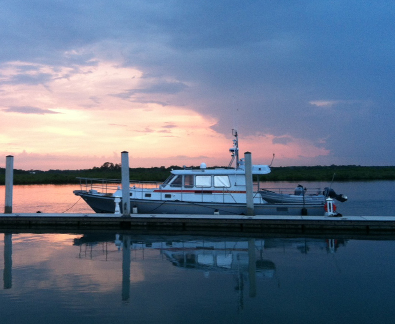 New England Boatworks-Hood Custom Expedition 1998-STARLIGHT Portsmouth-Rhode Island-United States-At Dock-1627035 | Thumbnail