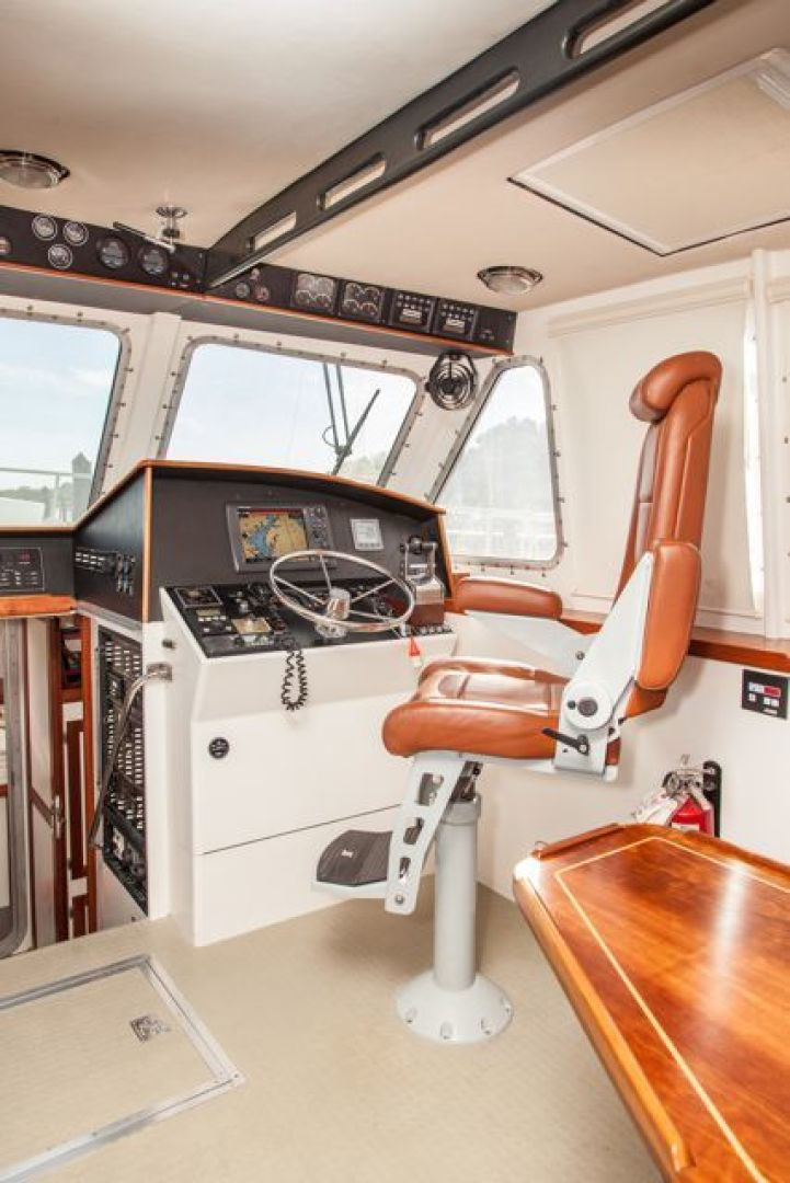 New England Boatworks-Hood Custom Expedition 1998-STARLIGHT Portsmouth-Rhode Island-United States-Helm-1627058 | Thumbnail