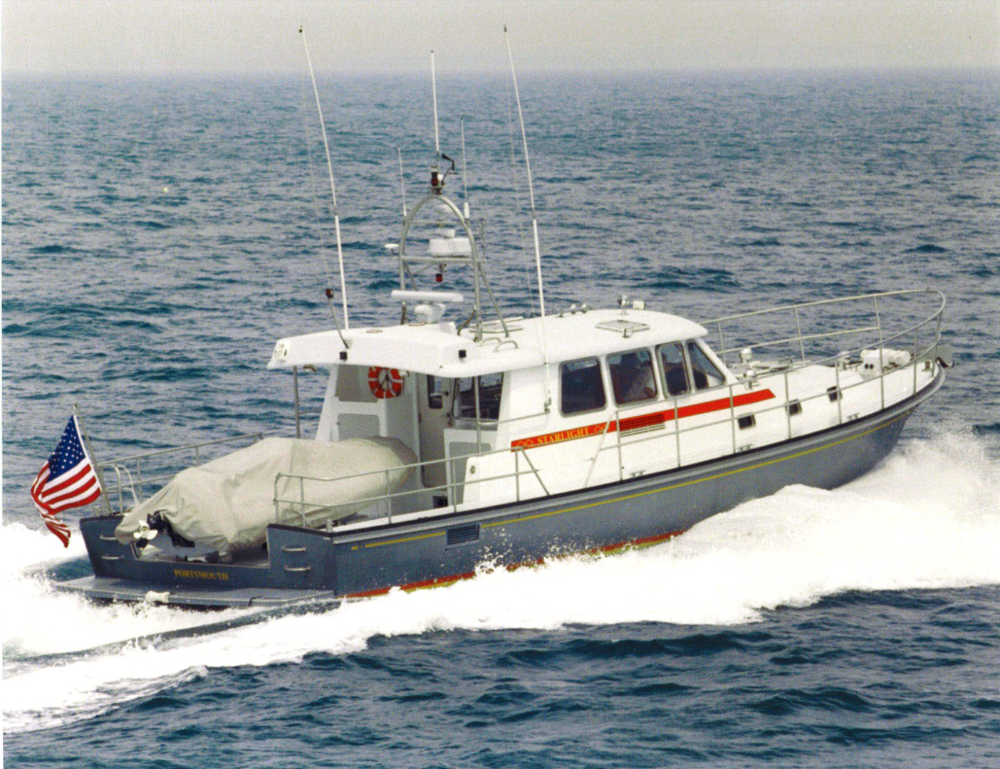 New England Boatworks-Hood Custom Expedition 1998-STARLIGHT Portsmouth-Rhode Island-United States-Underway-1627072 | Thumbnail