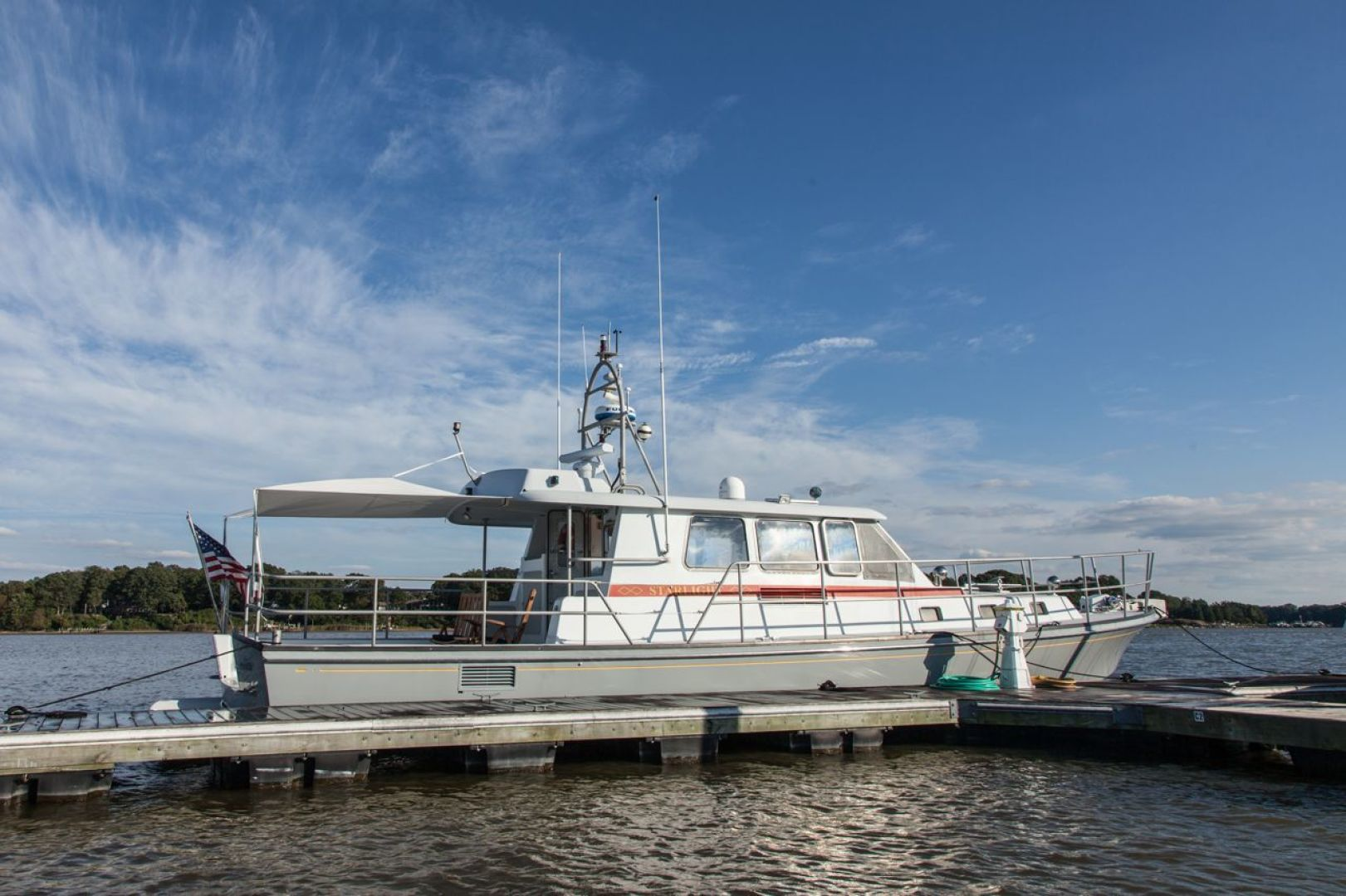 New England Boatworks-Hood Custom Expedition 1998-STARLIGHT Portsmouth-Rhode Island-United States-Profile-1627069 | Thumbnail