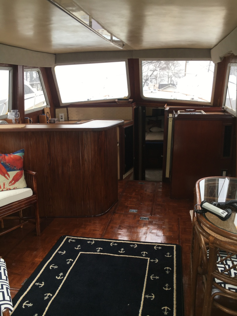 Chris-Craft-West Indian Trawler 1983 -Pasadena-Maryland-United States-1618370   Thumbnail