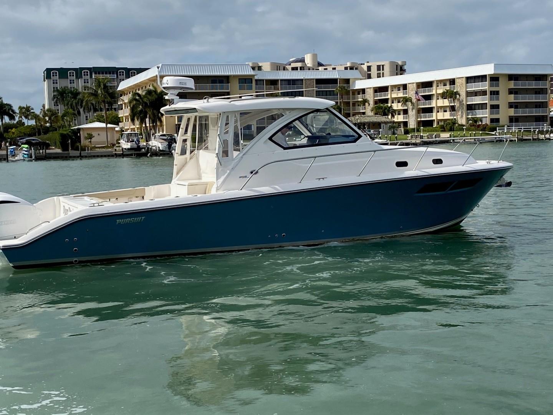 Pursuit-355 Offshore 2000-DUN DOCN Naples-Florida-United States-35 Pursuit Profile Stbd-1634746 | Thumbnail