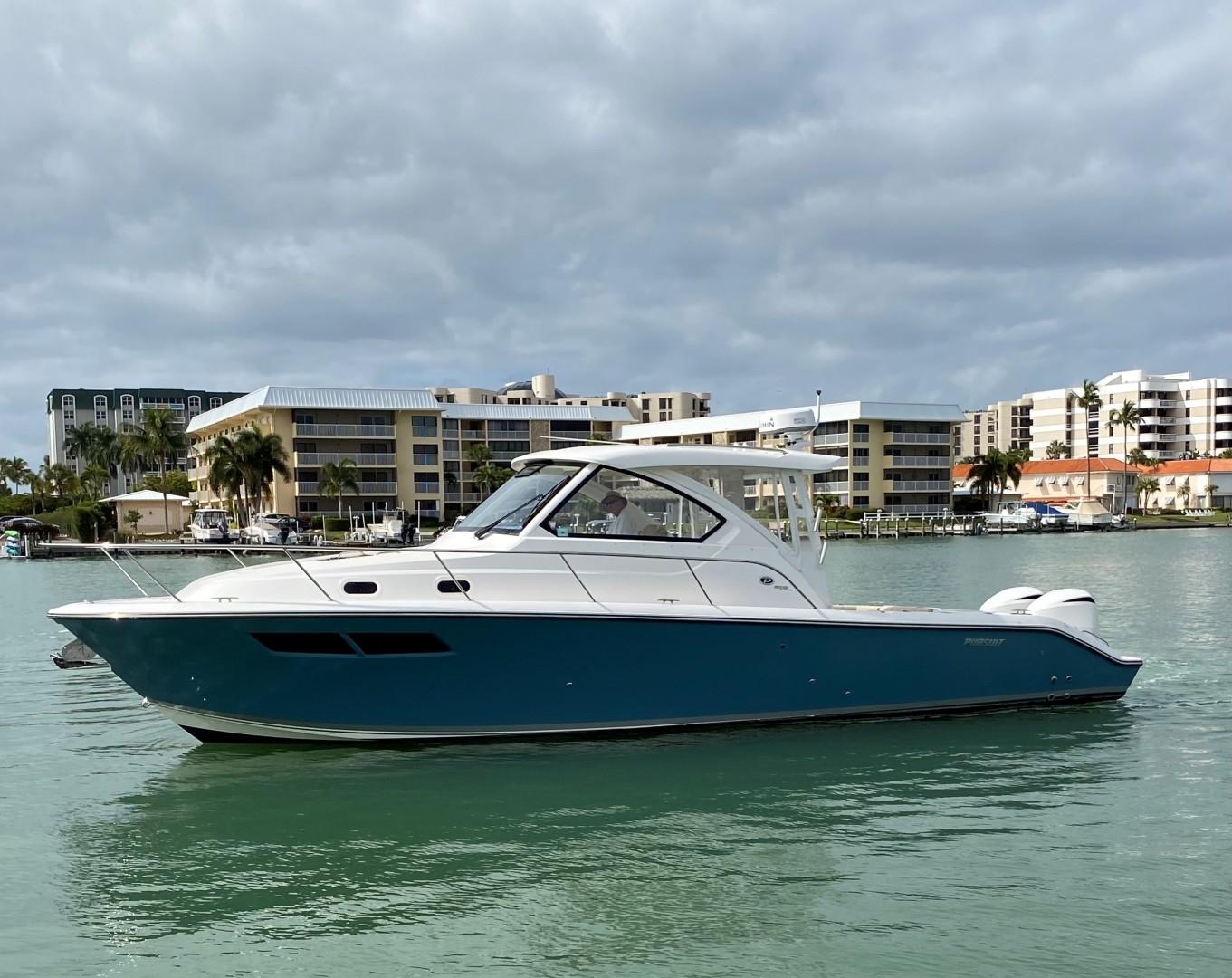 Pursuit-355 Offshore 2000-DUN DOCN Naples-Florida-United States-35 Pursuit Profile Port-1634745 | Thumbnail