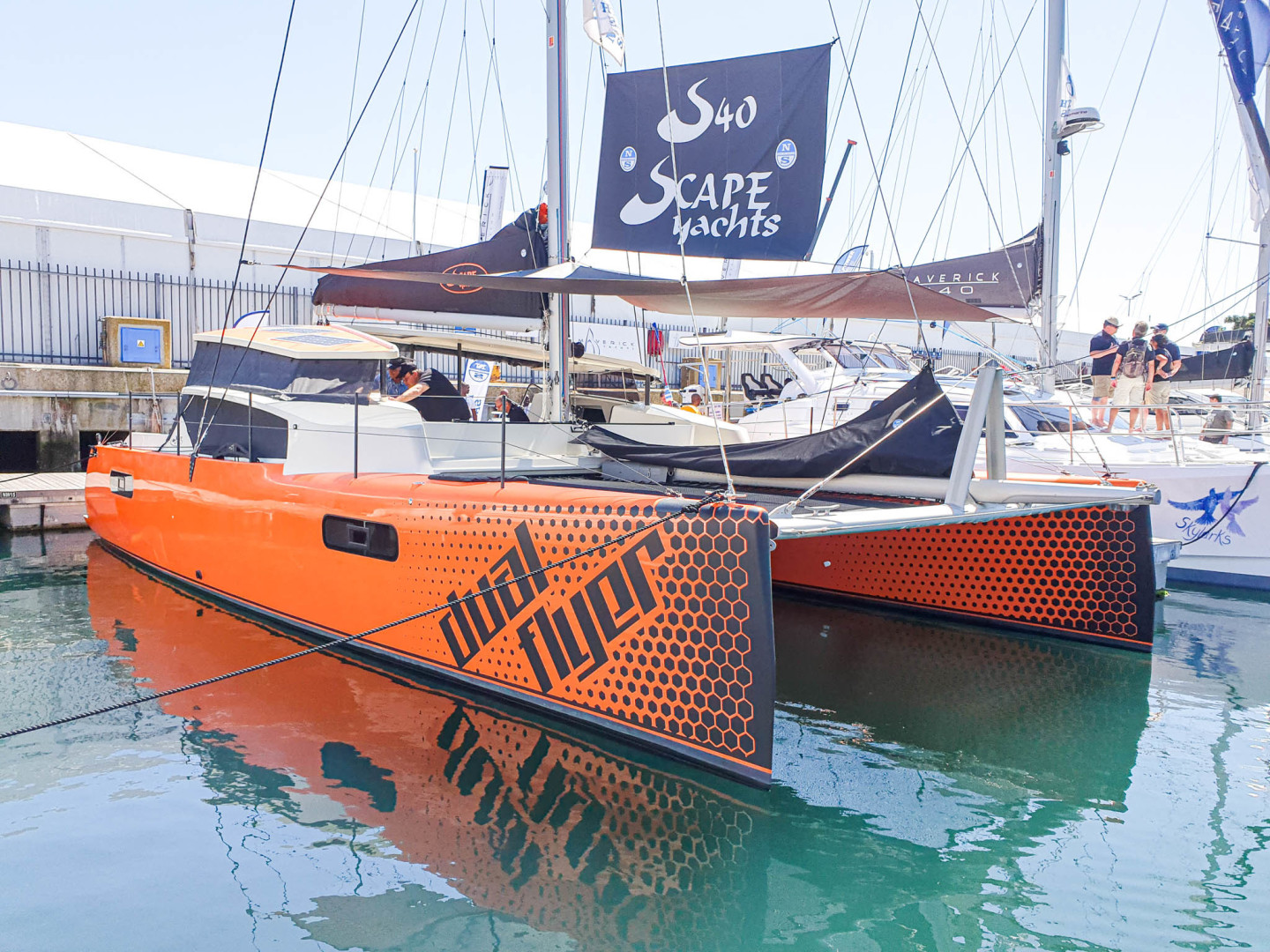 Scape-40 Sport 2019-Dual Flyer Durban-South Africa-2019 Scape Yachts 40 Sport 05-1621024 | Thumbnail