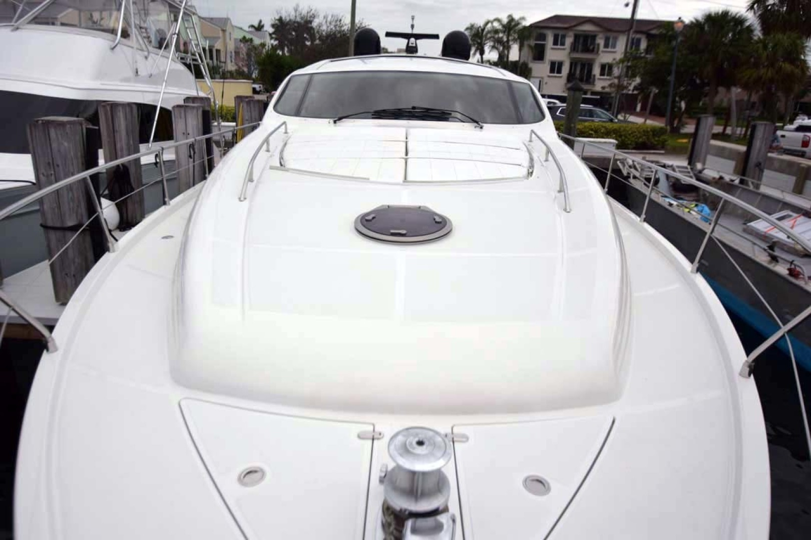 Pershing-62 2007-CHOPIN Lighthouse Point-Florida-United States Bow View To Helm-1625693 | Thumbnail