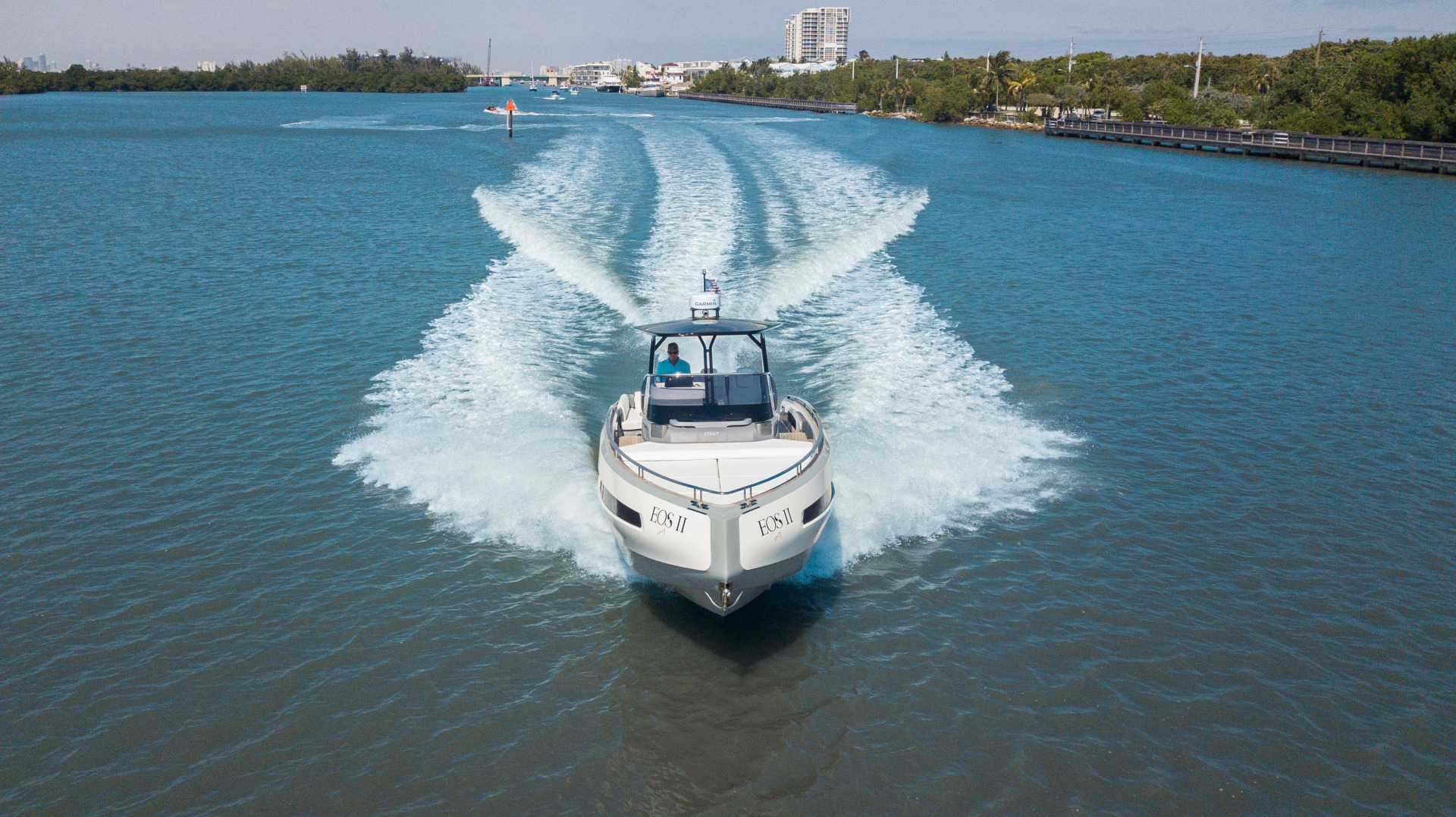 Invictus-370 GT 2018-EOS II Fort Lauderdale-Florida-United States-Arial Profile-1629990 | Thumbnail
