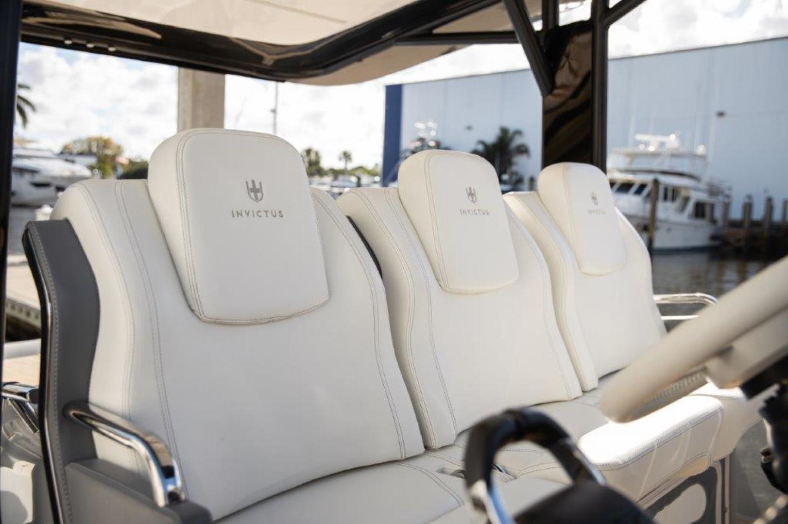 Invictus-370 GT 2018-EOS II Fort Lauderdale-Florida-United States-Helm Seats-1624943 | Thumbnail