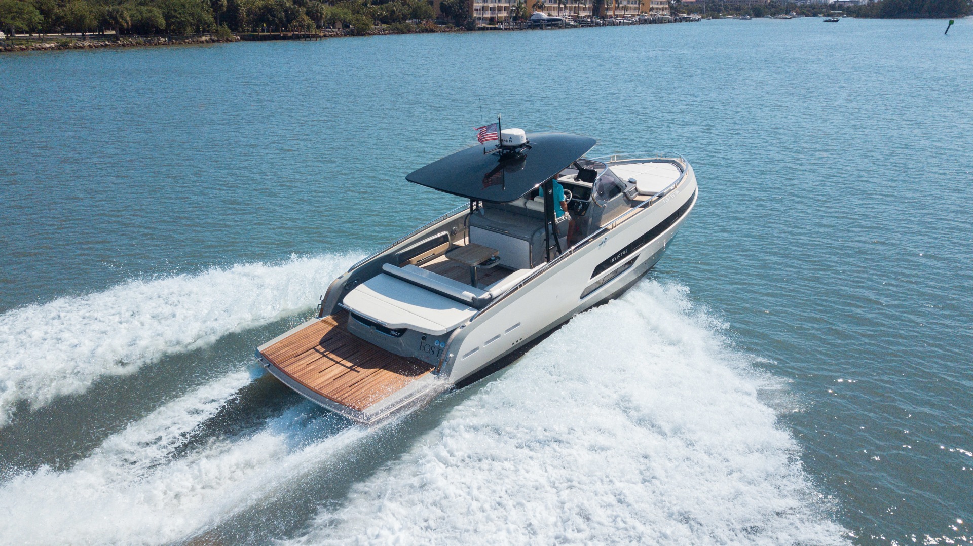 Invictus-370 GT 2018-EOS II Fort Lauderdale-Florida-United States-Arial Profile-1629992 | Thumbnail