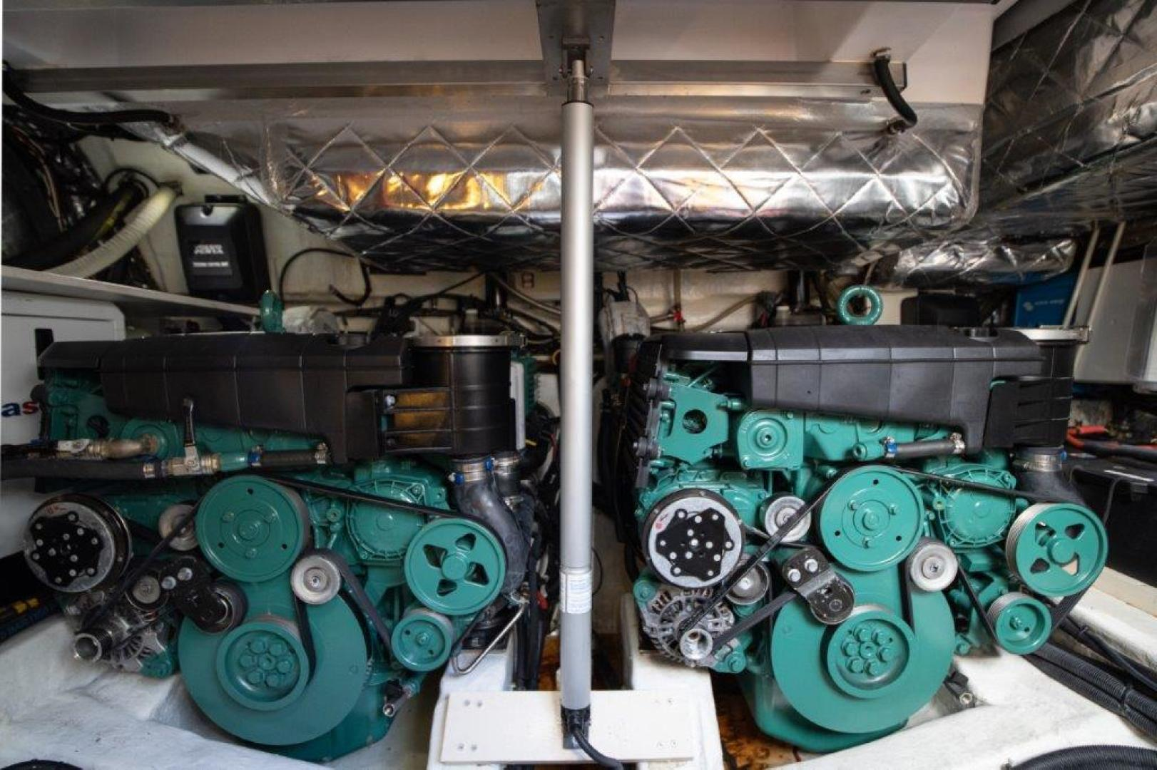 Invictus-370 GT 2018-EOS II Fort Lauderdale-Florida-United States-Engine Room-1624950 | Thumbnail