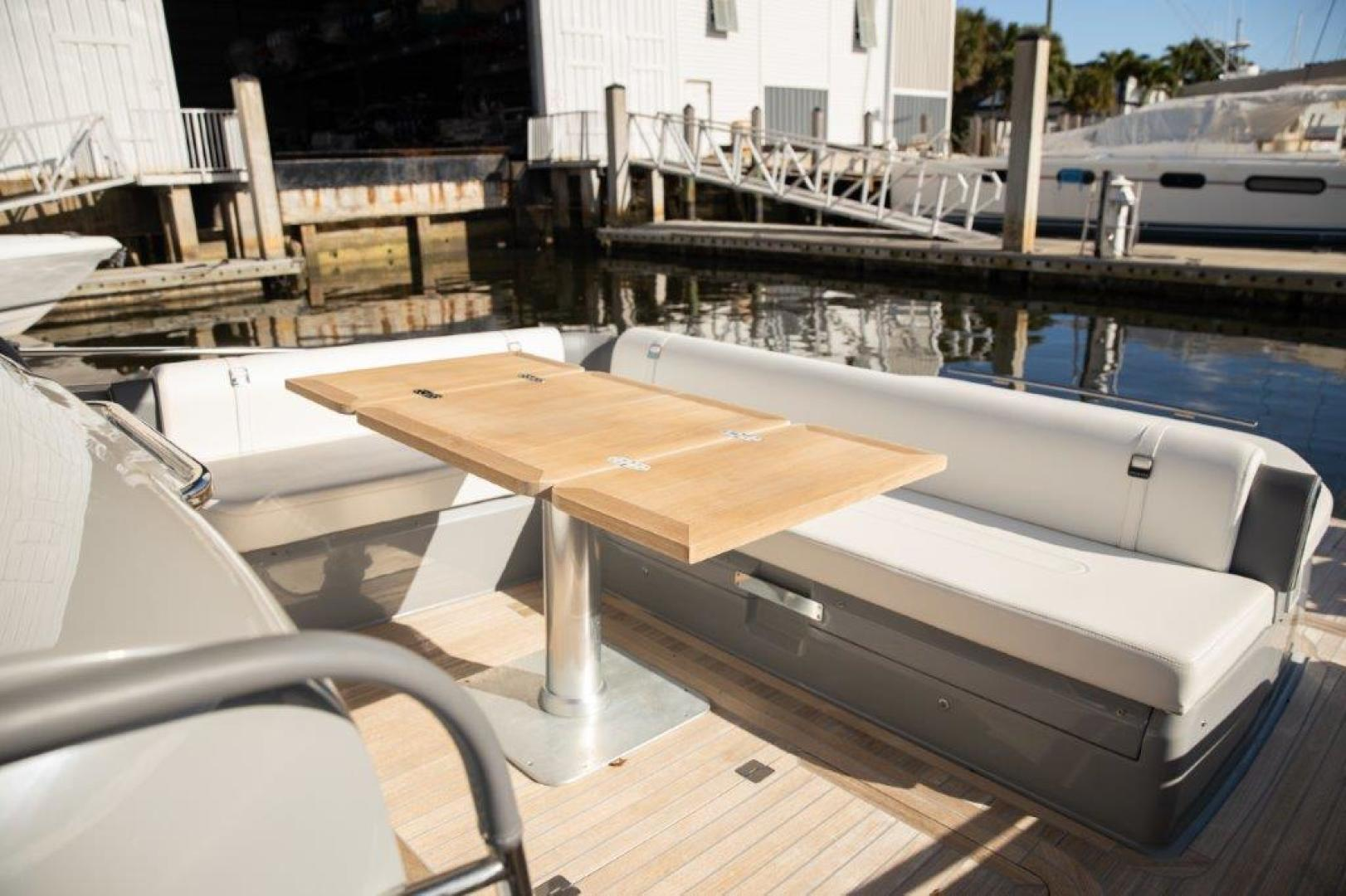 Invictus-370 GT 2018-EOS II Fort Lauderdale-Florida-United States-Aft Seating-1624949 | Thumbnail