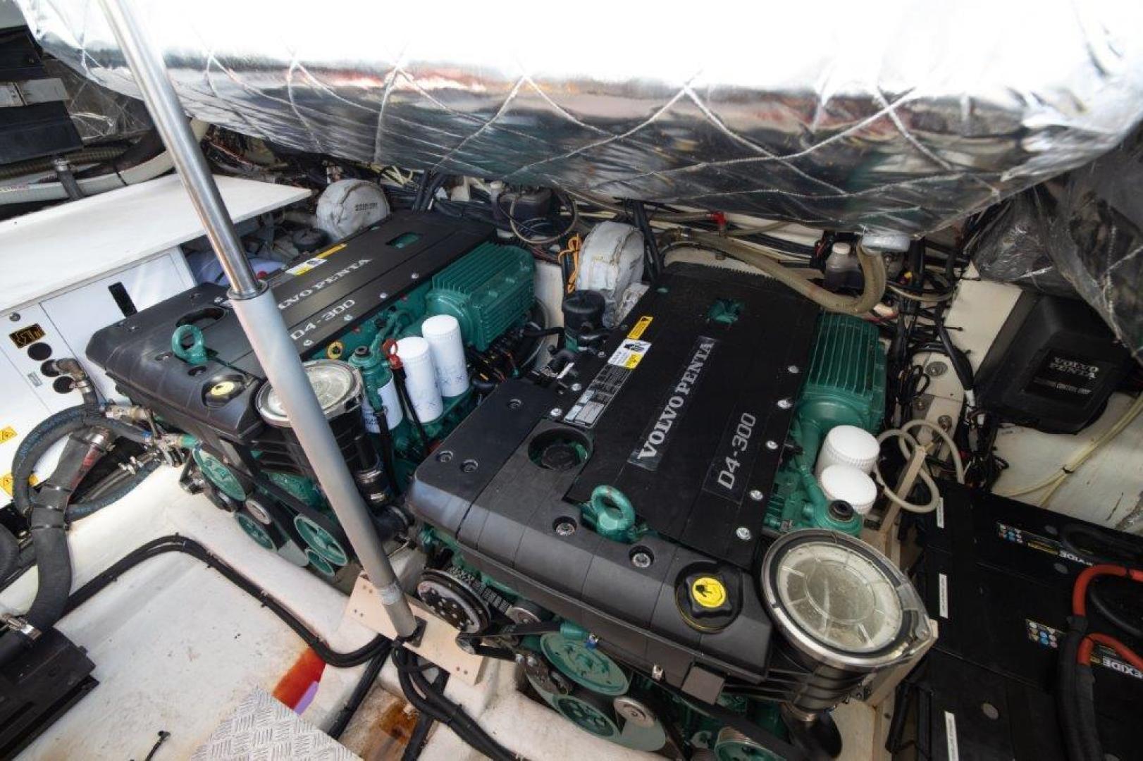 Invictus-370 GT 2018-EOS II Fort Lauderdale-Florida-United States-Engine Room-1624951 | Thumbnail