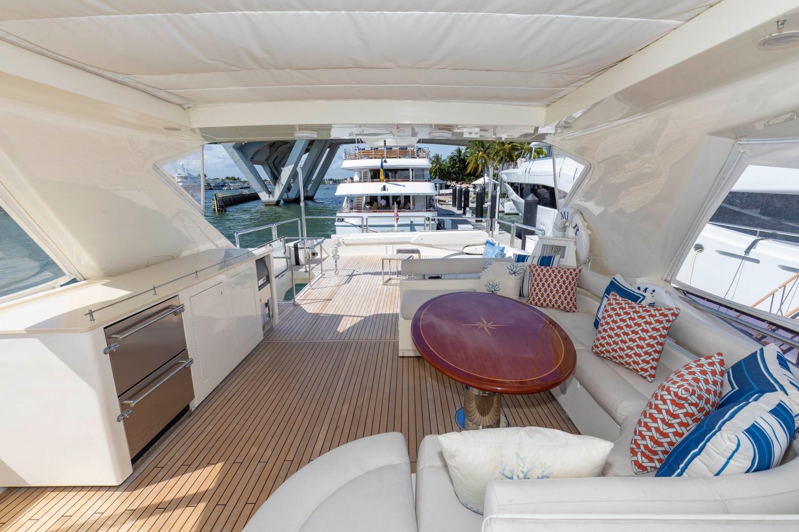 Ferretti Yachts-830HT 2010-MI RX Fort Lauderdale-Florida-United States-Bridge Lounge-1644677 | Thumbnail