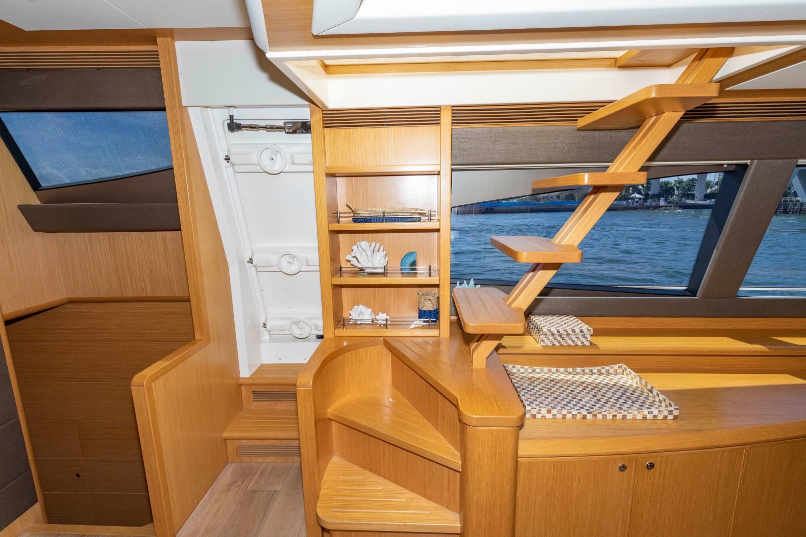Ferretti Yachts-830HT 2010-MI RX Fort Lauderdale-Florida-United States-Bridge Stairs-1644666 | Thumbnail