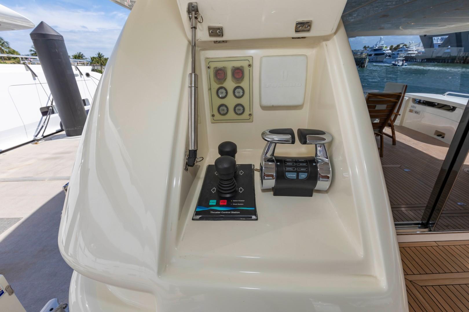 Ferretti Yachts-830HT 2010-MI RX Fort Lauderdale-Florida-United States-Aft Controls-1644668 | Thumbnail