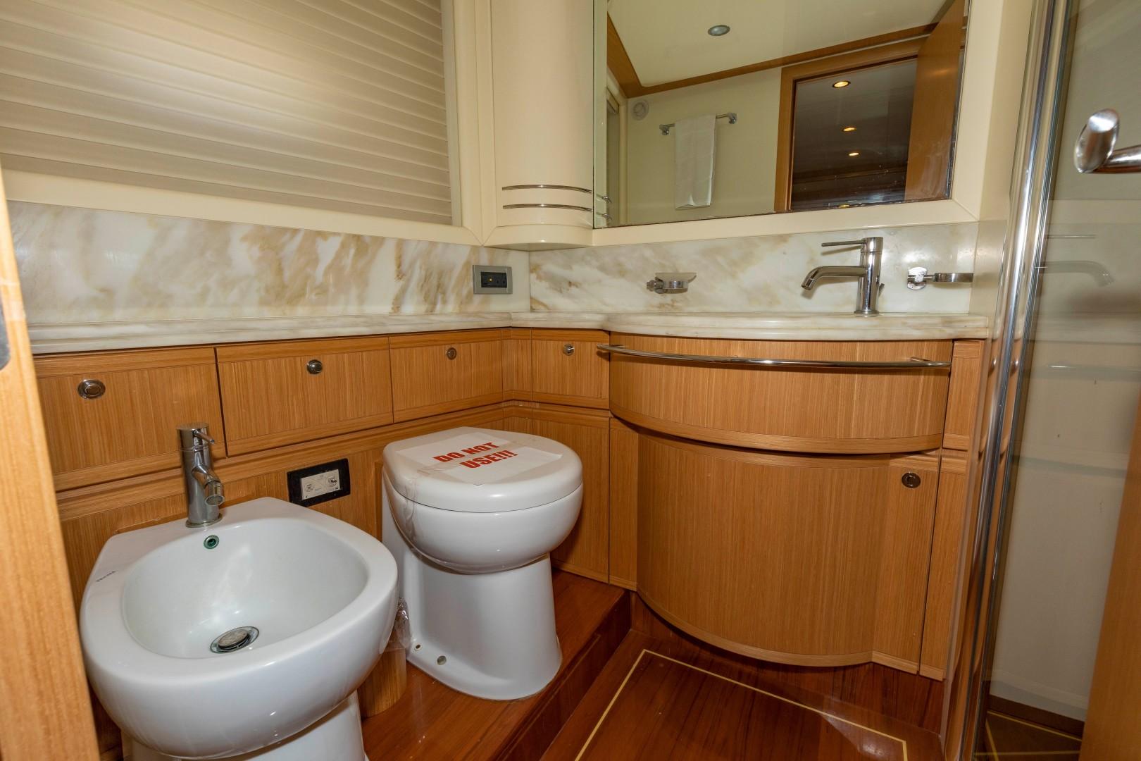 Ferretti Yachts-830HT 2010-MI RX Fort Lauderdale-Florida-United States-Addtl. Guest Head-1644652 | Thumbnail