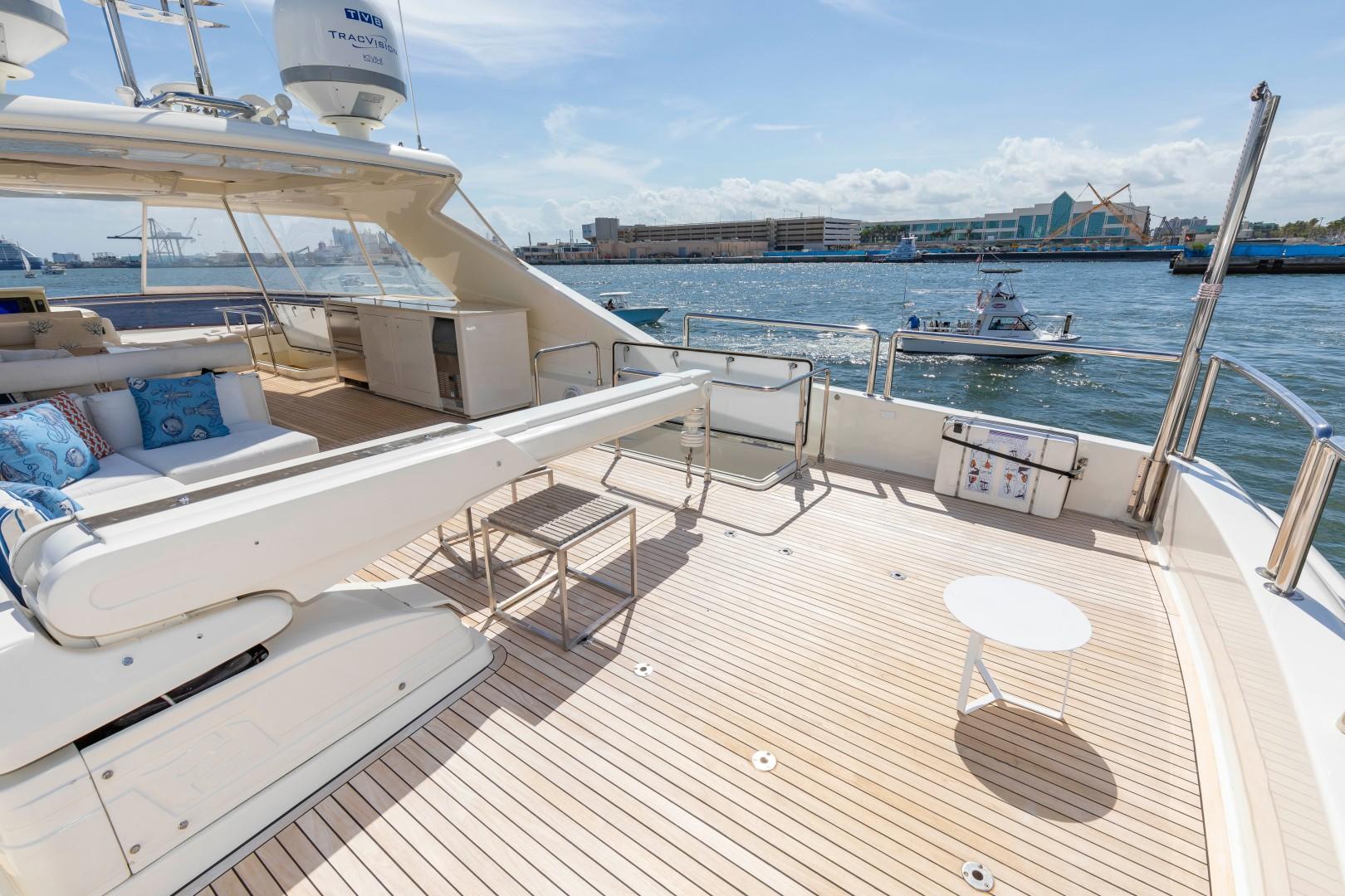 Ferretti Yachts-830HT 2010-MI RX Fort Lauderdale-Florida-United States-Bridge Deck-1644671 | Thumbnail