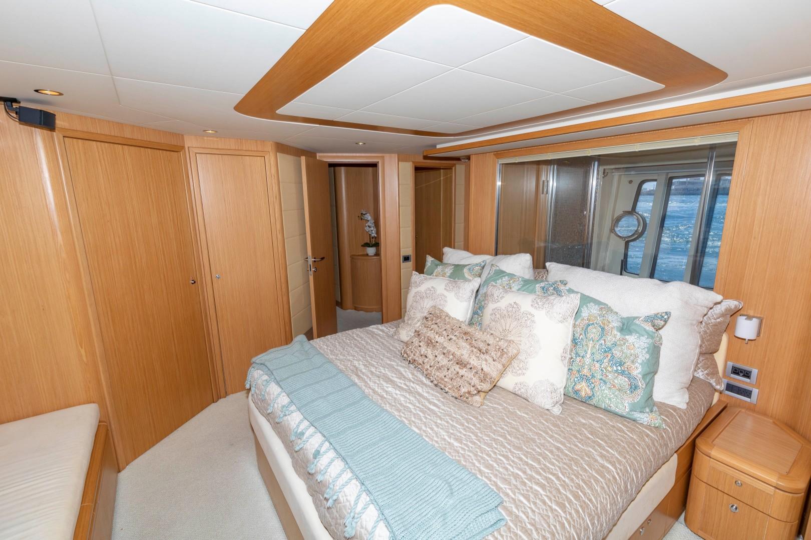 Ferretti Yachts-830HT 2010-MI RX Fort Lauderdale-Florida-United States-Master Stateroom-1644643 | Thumbnail