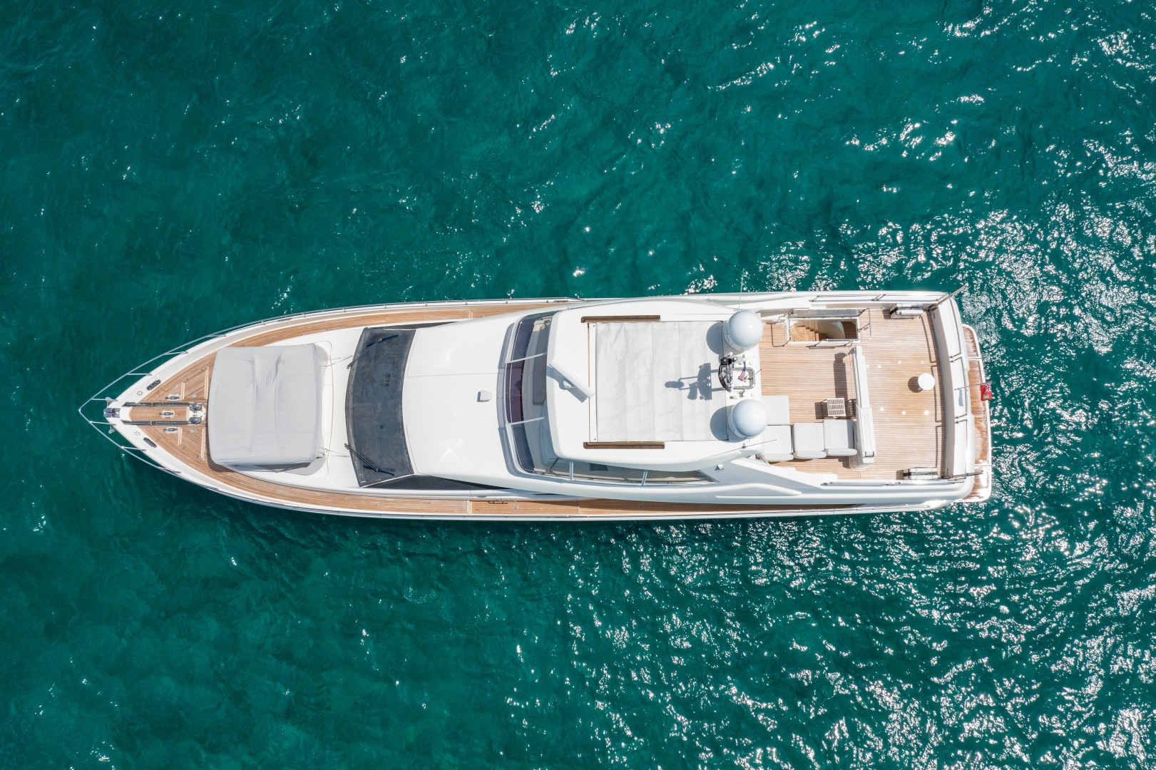 Ferretti Yachts-830HT 2010-MI RX Fort Lauderdale-Florida-United States-Aerial Profile-1644642 | Thumbnail